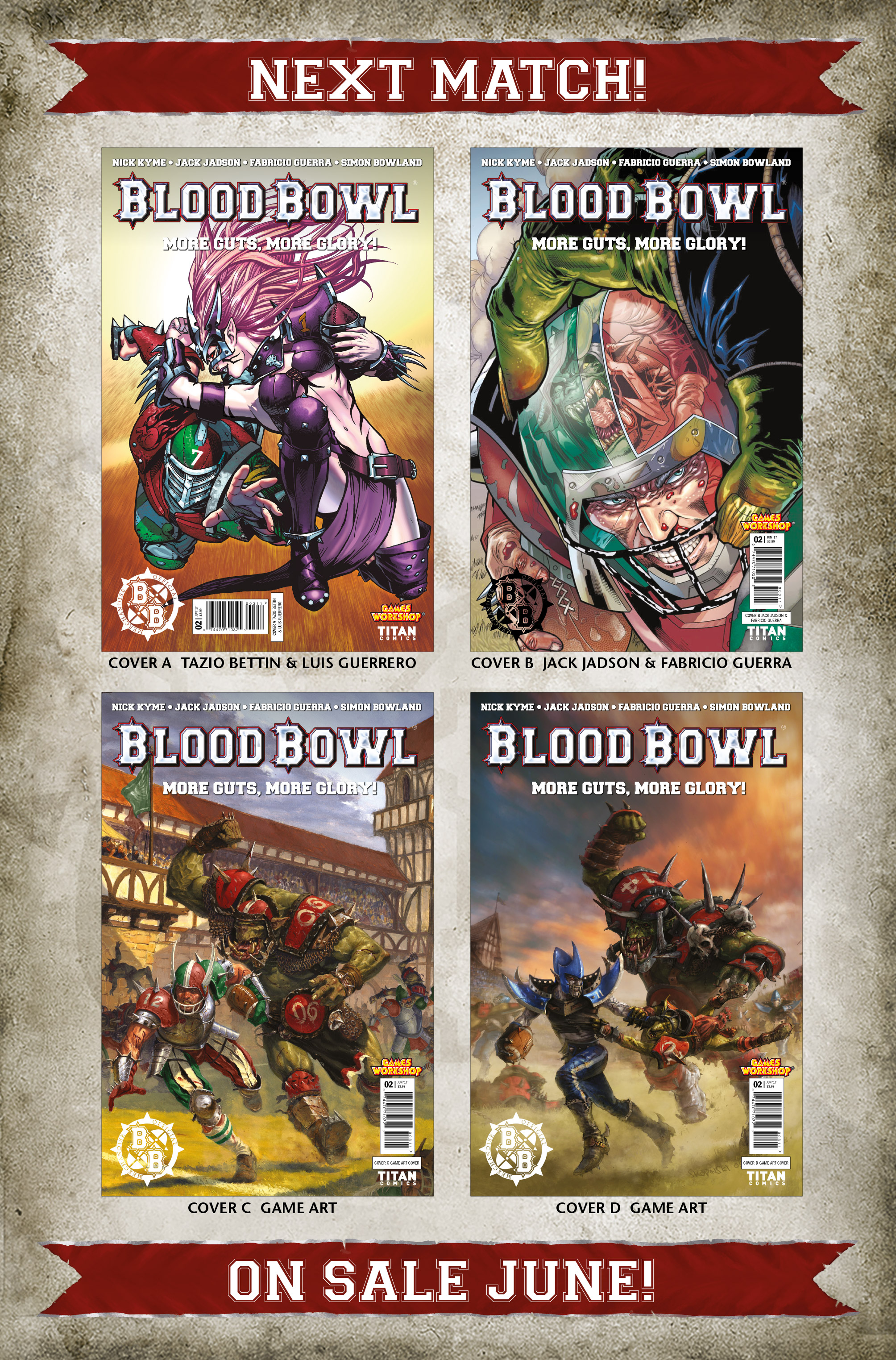 Read online Blood Bowl: More Guts, More Glory! comic -  Issue #1 - 32