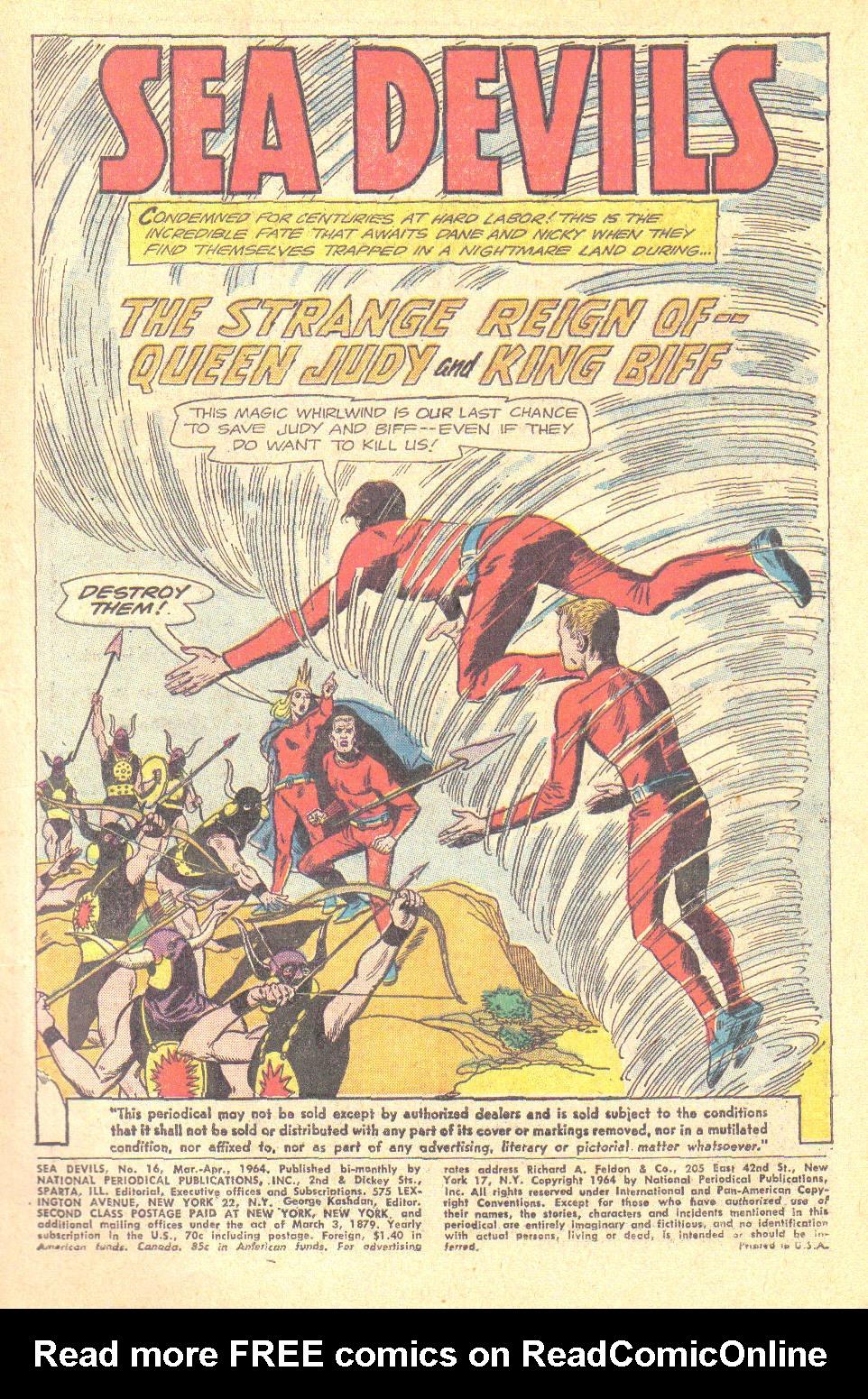 Read online Sea Devils comic -  Issue #16 - 3
