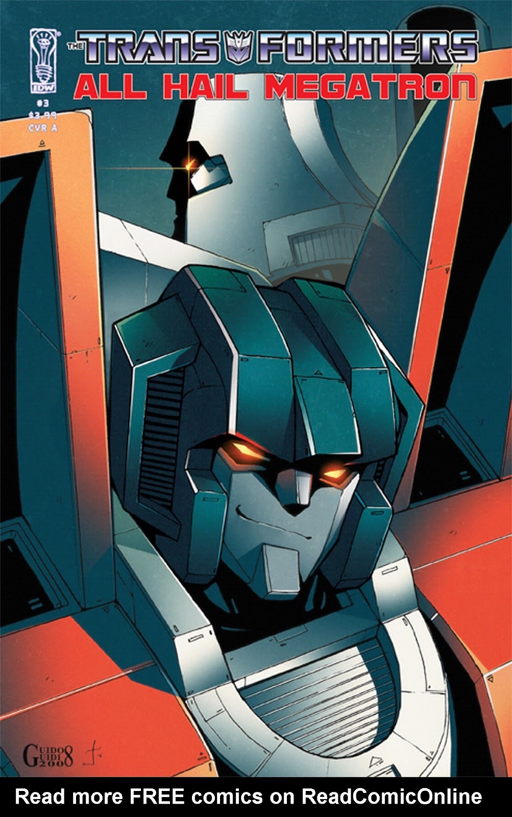 The Transformers: All Hail Megatron issue 3 - Page 1