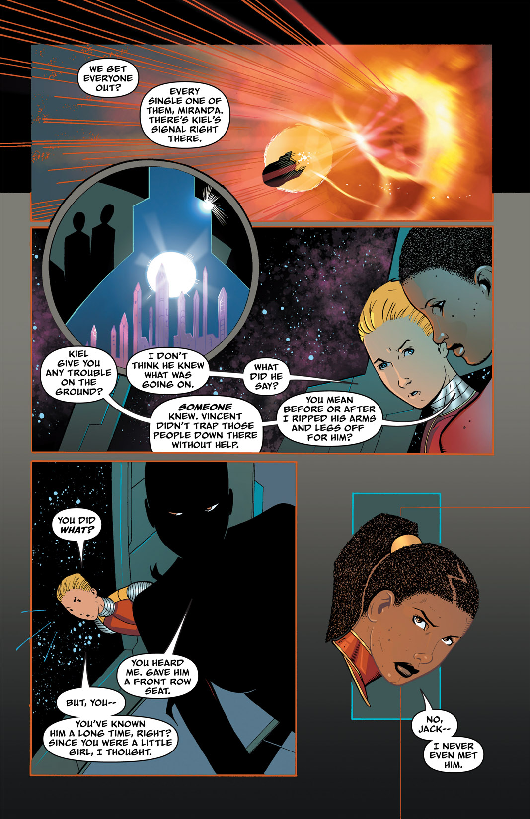 Read online The Many Adventures of Miranda Mercury: Time Runs Out comic -  Issue # TPB - 64