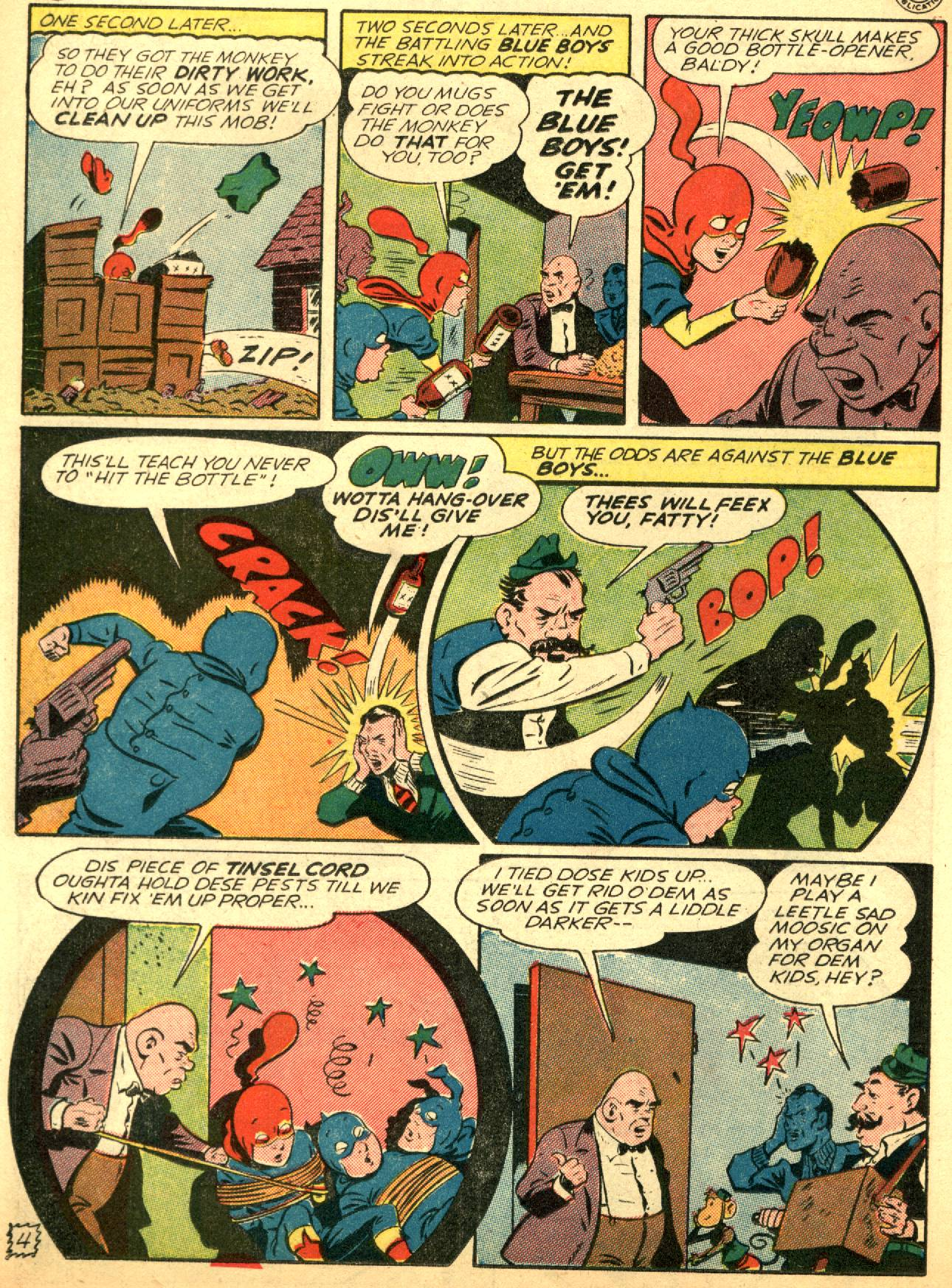 Read online Sensation (Mystery) Comics comic -  Issue #53 - 20