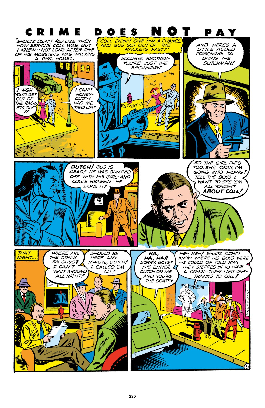 Read online Crime Does Not Pay Archives comic -  Issue # TPB 1 (Part 3) - 23