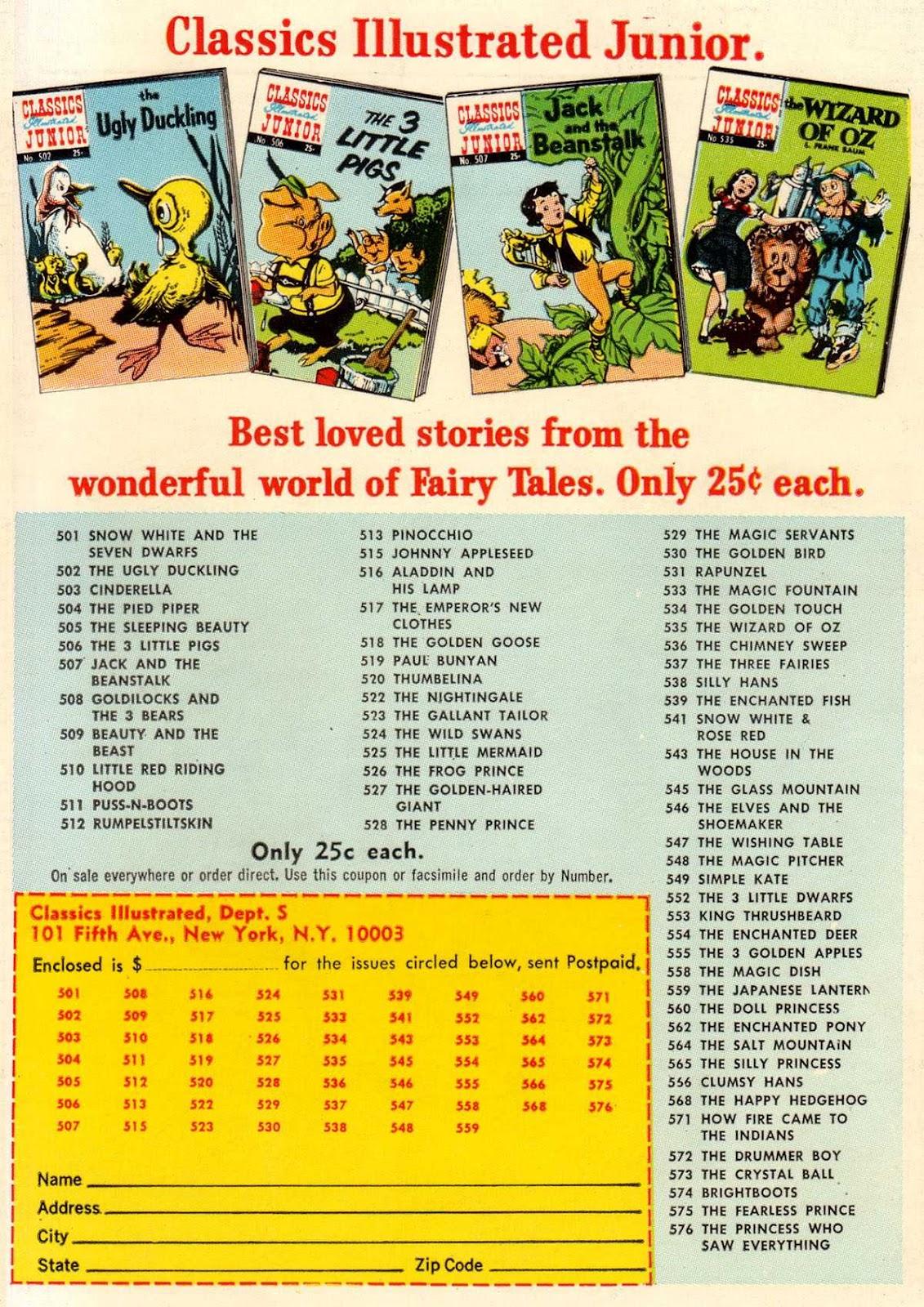 Classics Illustrated Junior 512 Page 36