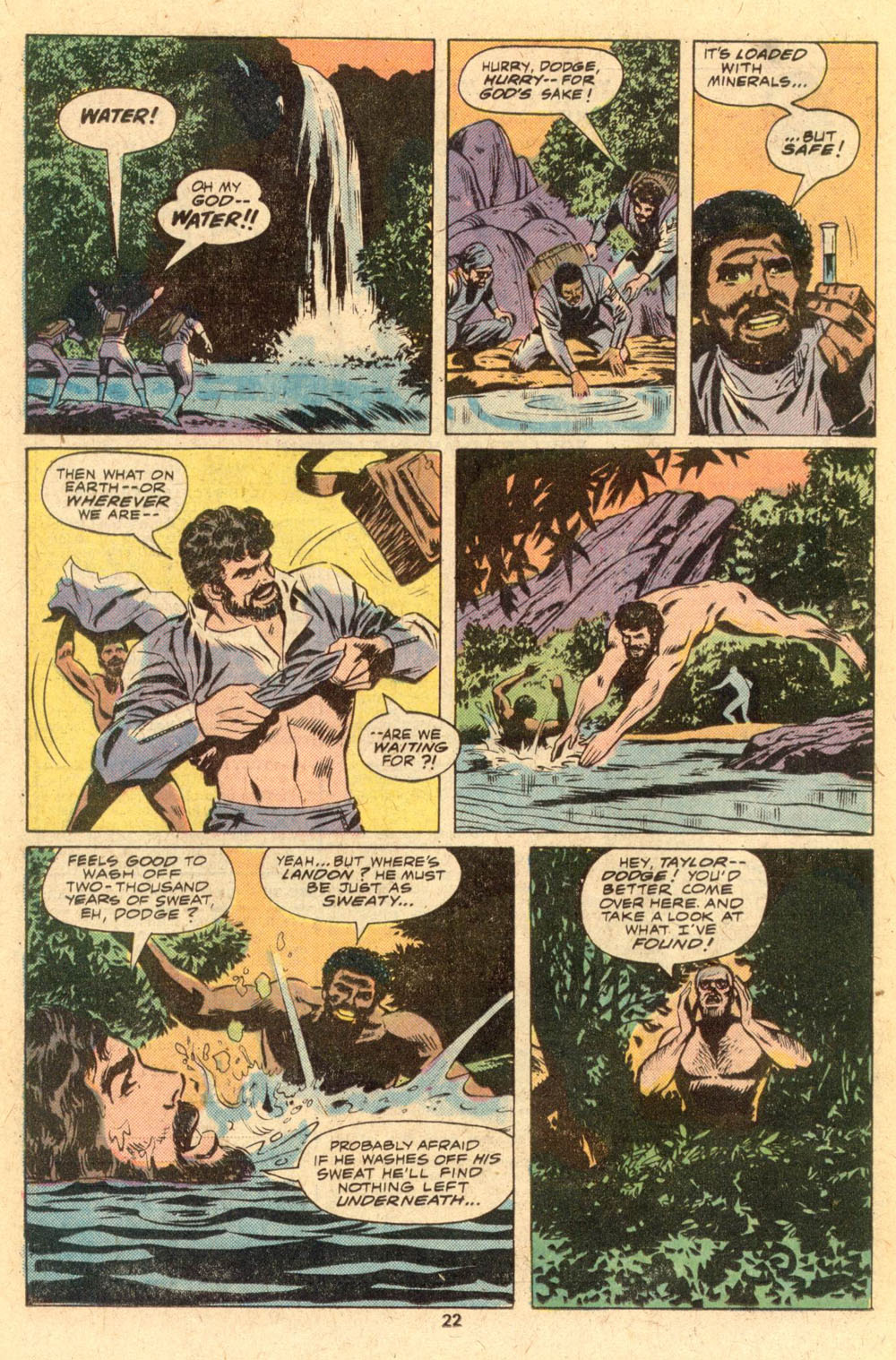 Read online Adventures on the Planet of the Apes comic -  Issue #1 - 15