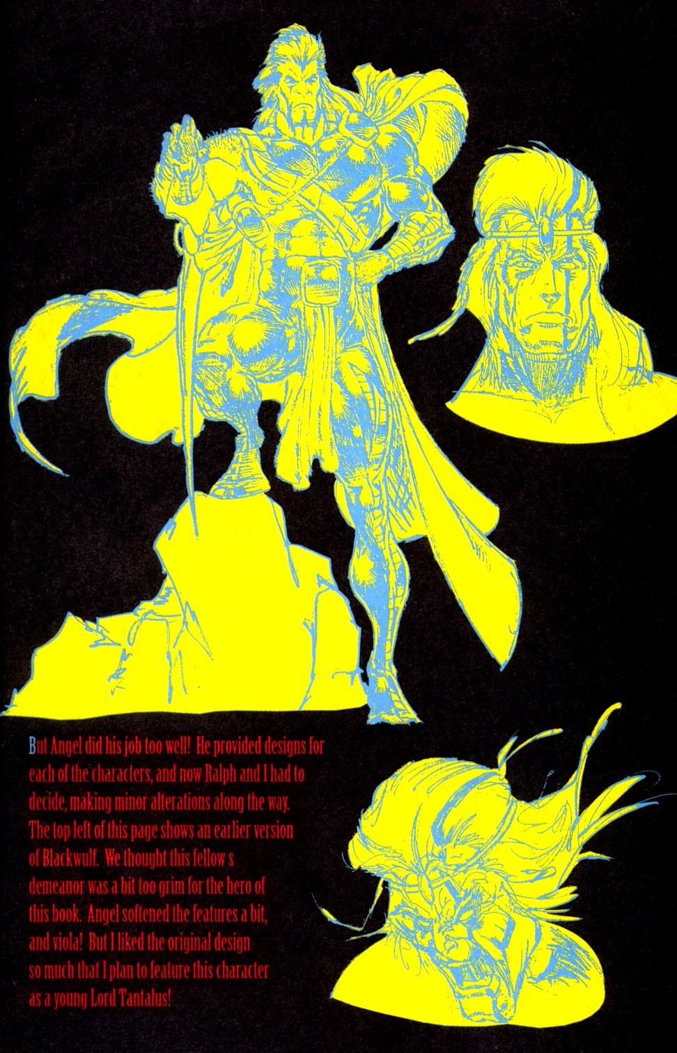 Read online Blackwulf comic -  Issue #6 - 17