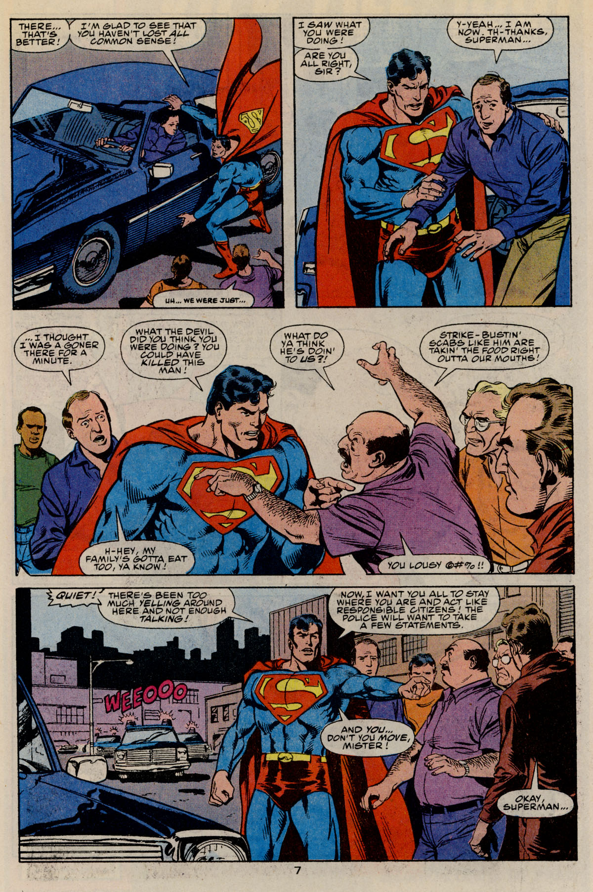 Read online Action Comics (1938) comic -  Issue #668 - 11