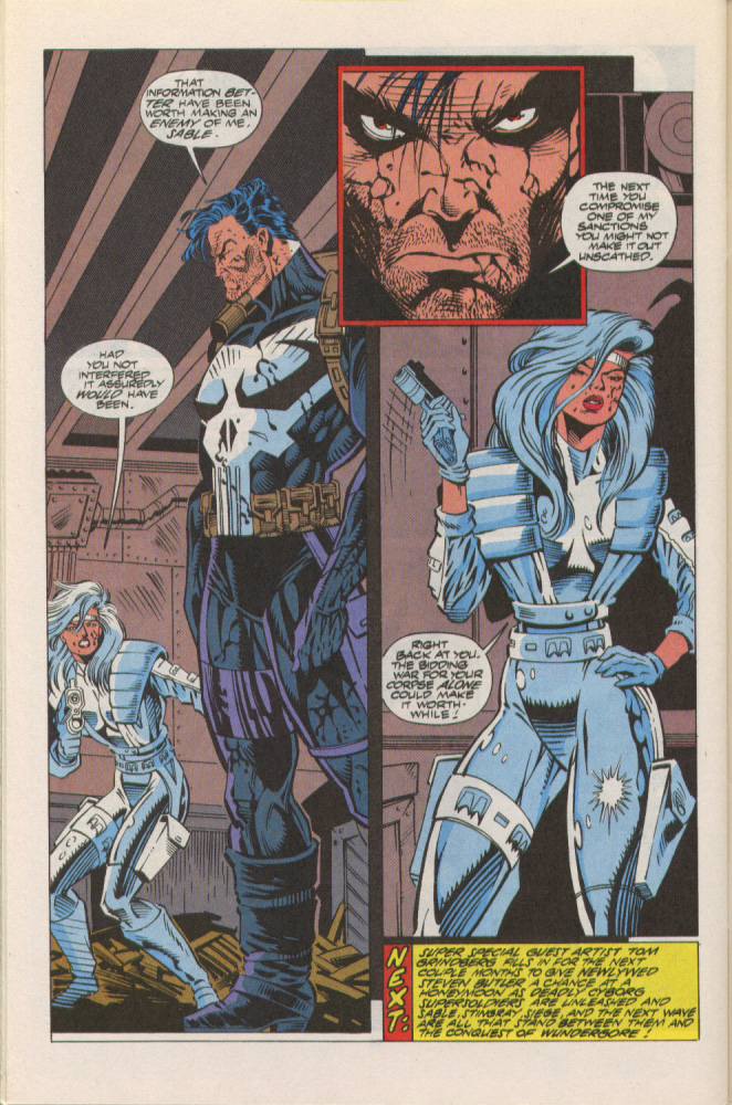 Read online Silver Sable and the Wild Pack comic -  Issue #10 - 23