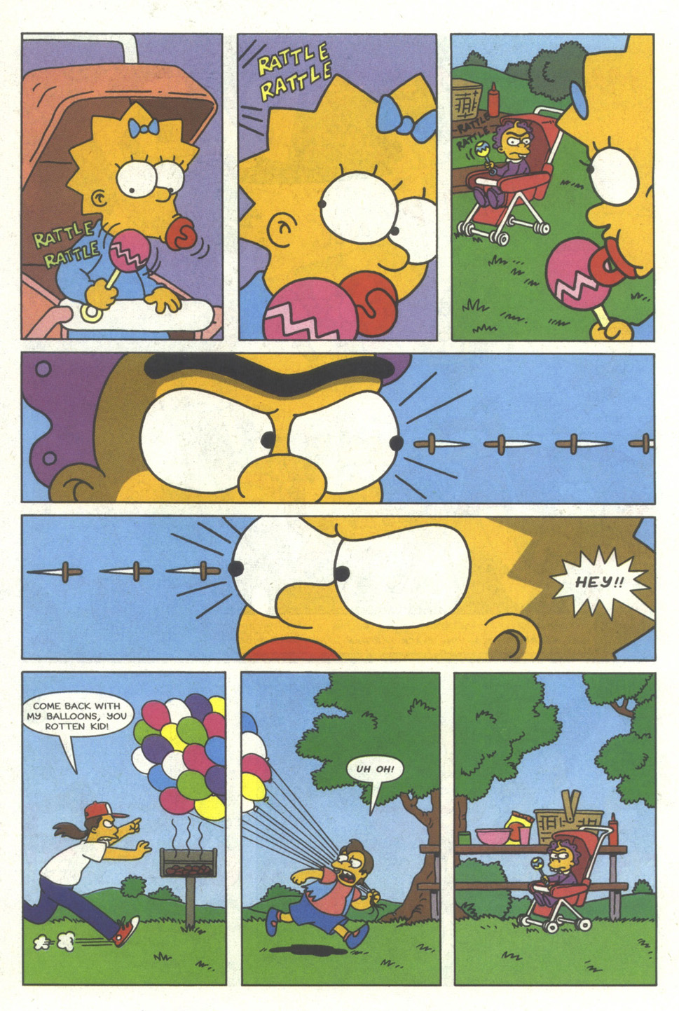 Read online Simpsons Comics comic -  Issue #29 - 26