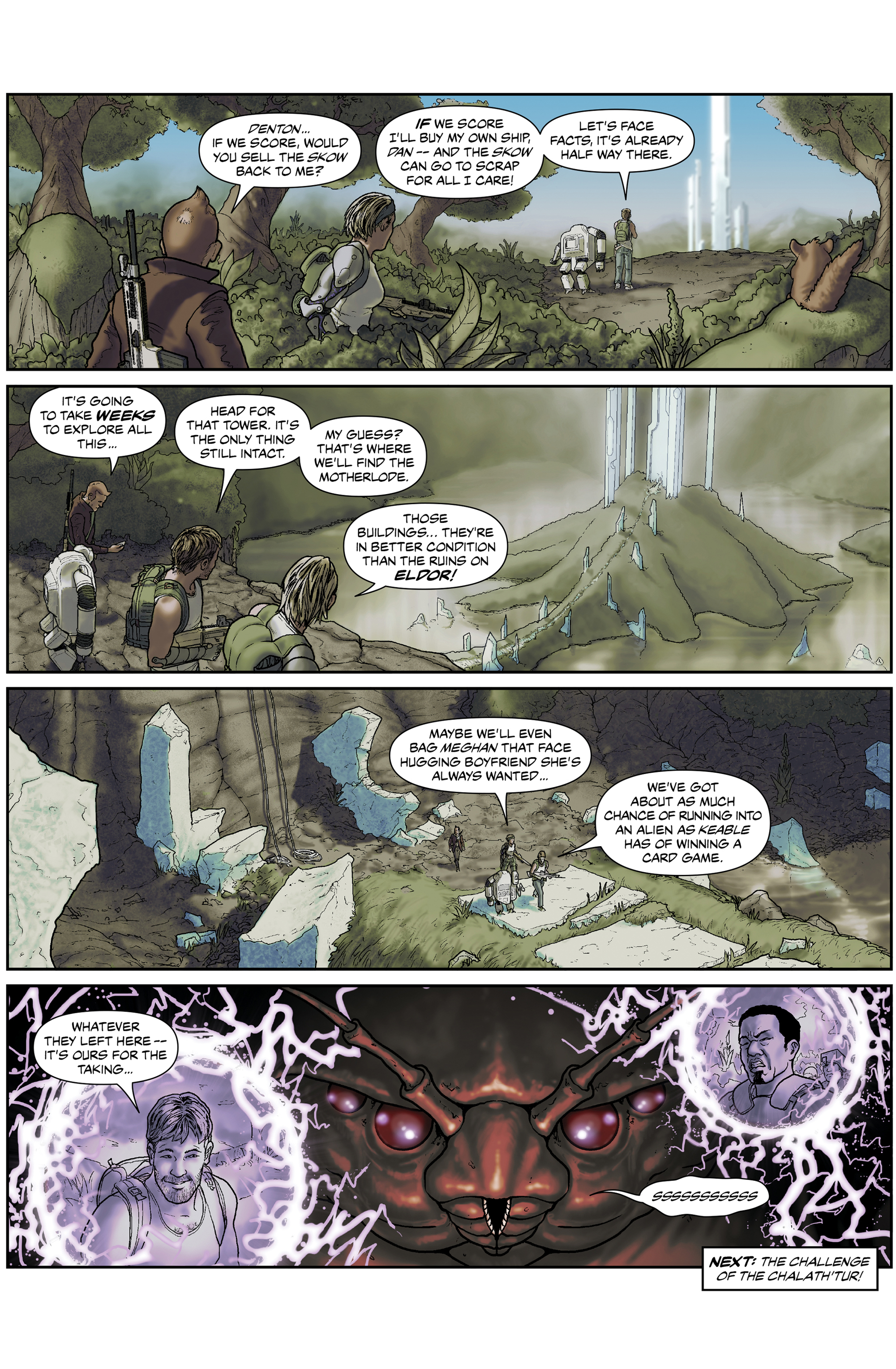 Read online 100% Biodegradable comic -  Issue #15 - 19