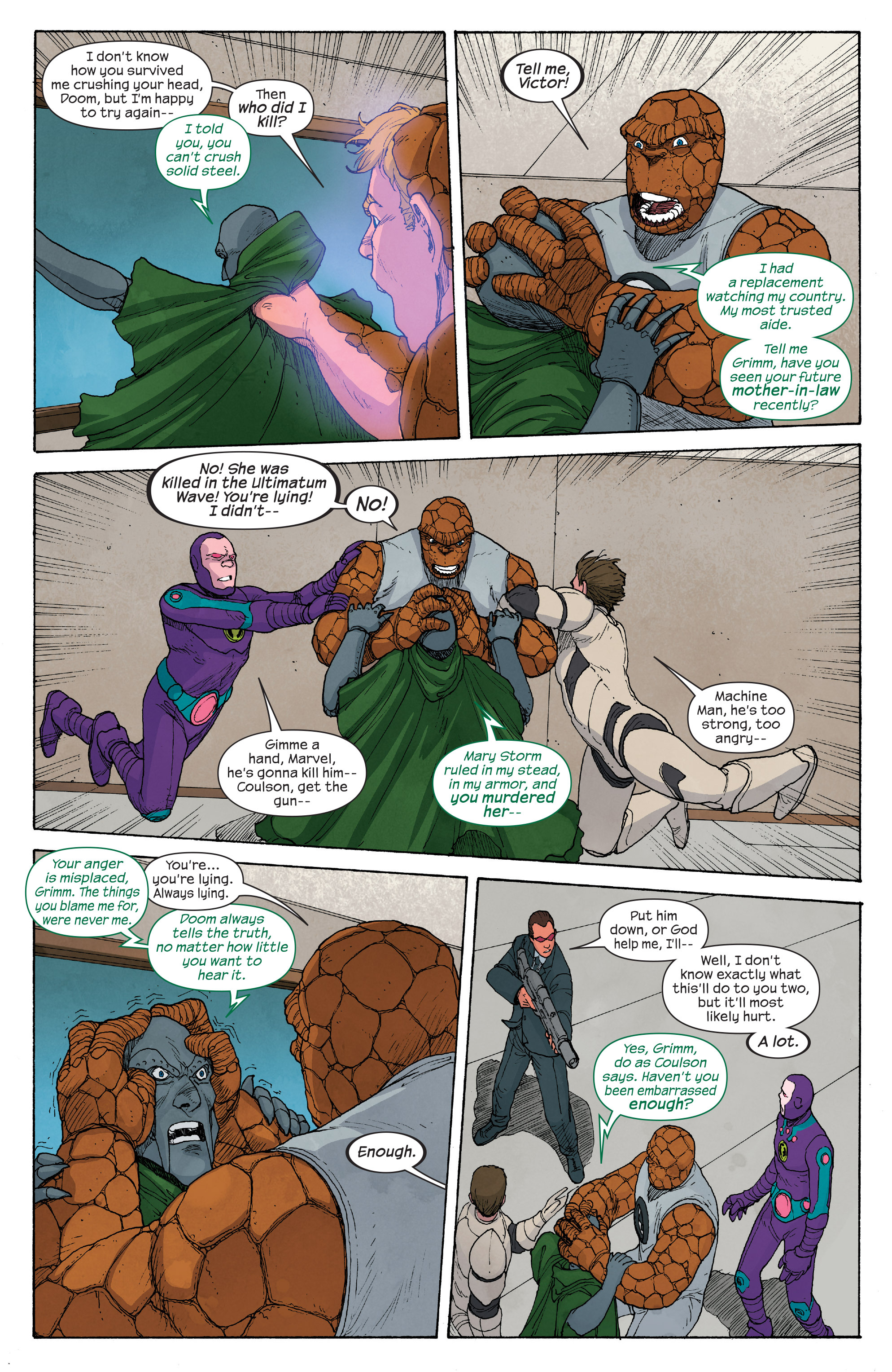 Read online Ultimate FF comic -  Issue #5 - 9