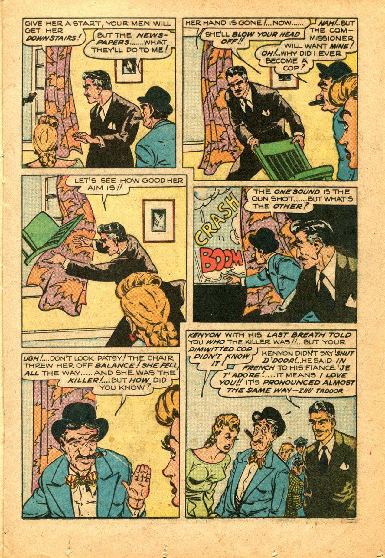 Read online Shadow Comics comic -  Issue #78 - 23