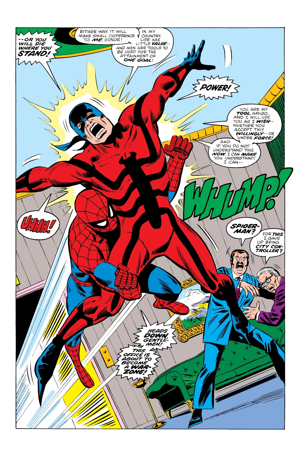 Read online Marvel Masterworks: The Spectacular Spider-Man comic -  Issue # TPB (Part 1) - 21