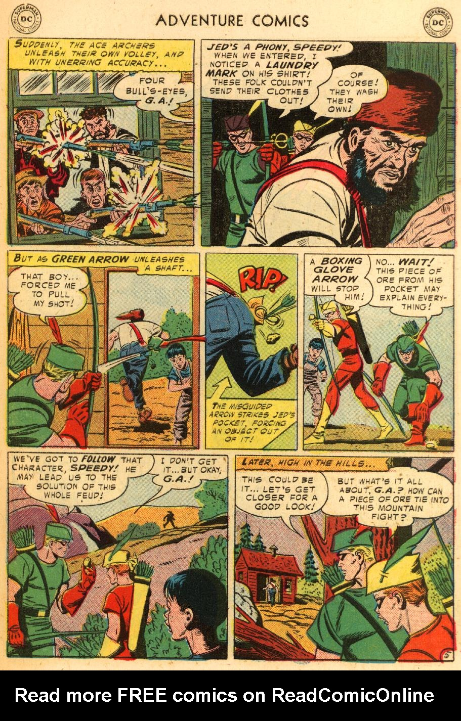 Read online Adventure Comics (1938) comic -  Issue #228 - 31
