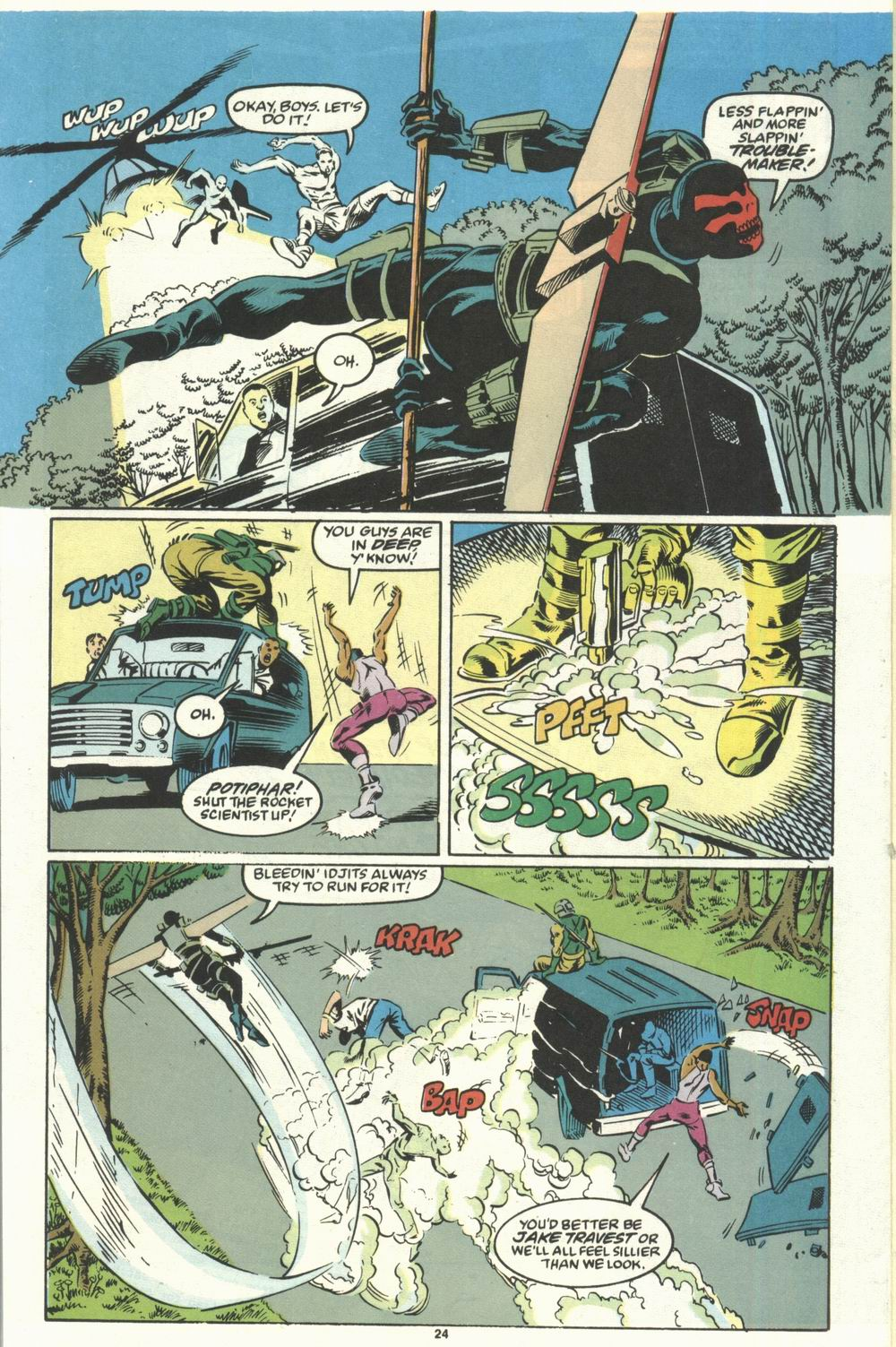 Read online Justice (1986) comic -  Issue #28 - 26
