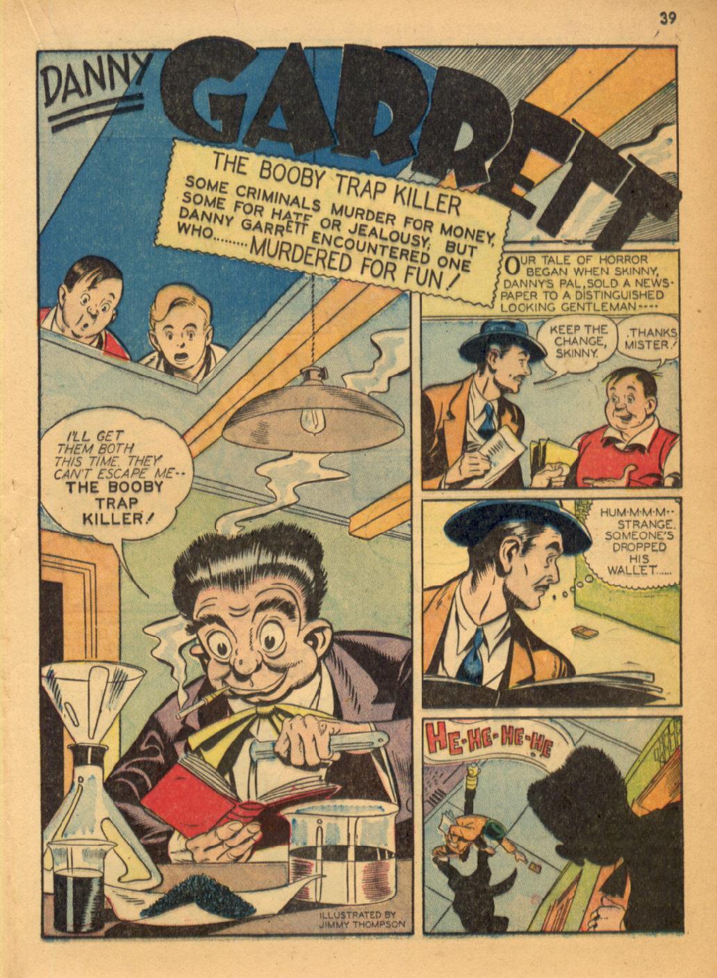 Read online Shadow Comics comic -  Issue #32 - 40