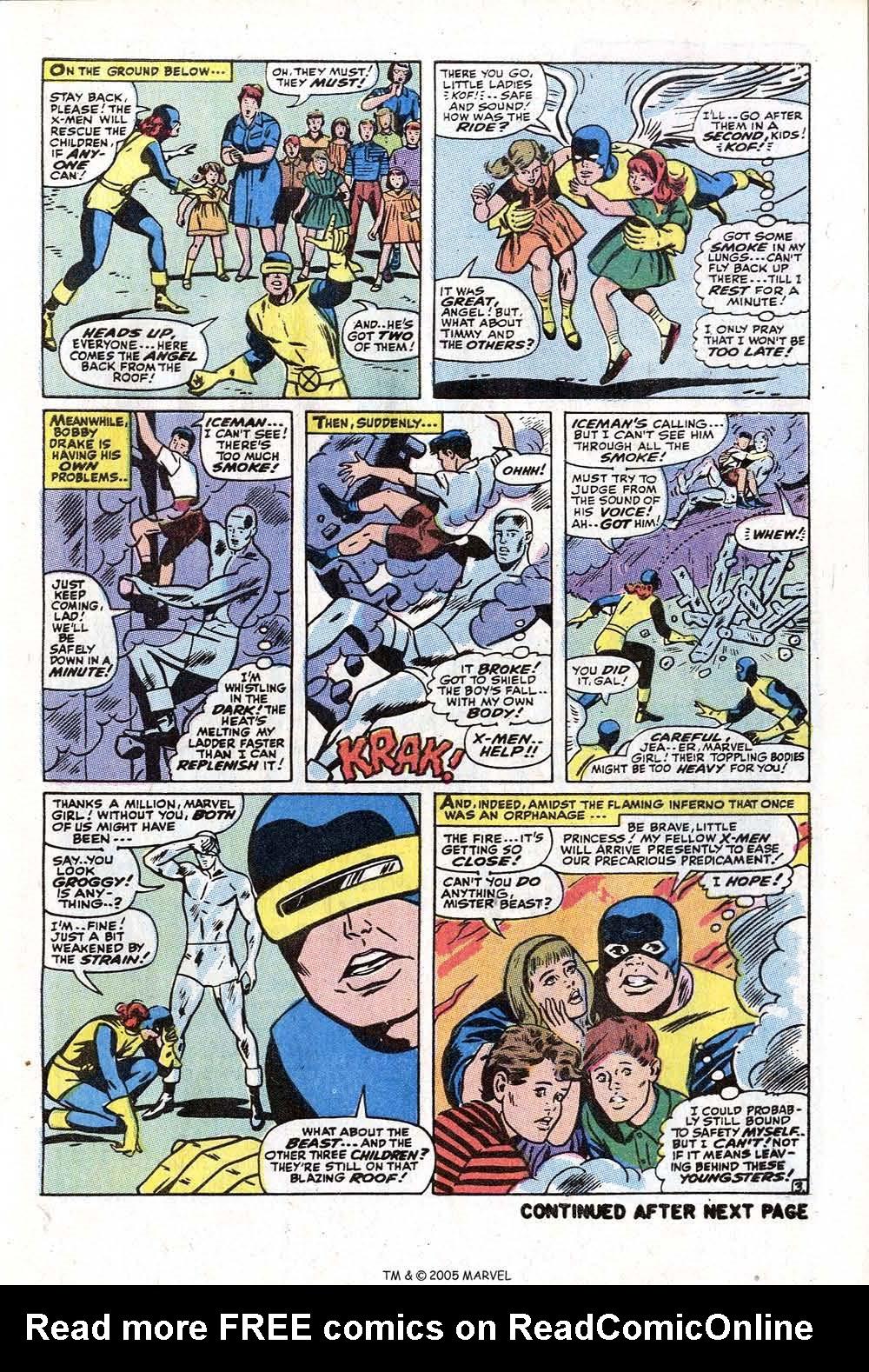 Read online Uncanny X-Men (1963) comic -  Issue #73 - 5