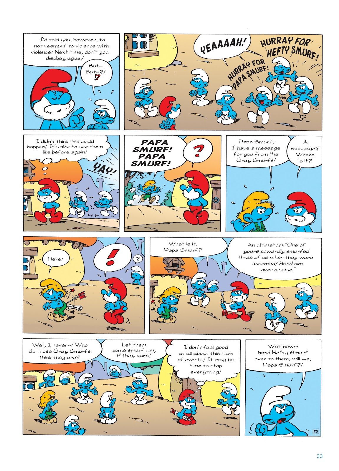 Read online The Smurfs comic -  Issue #22 - 34