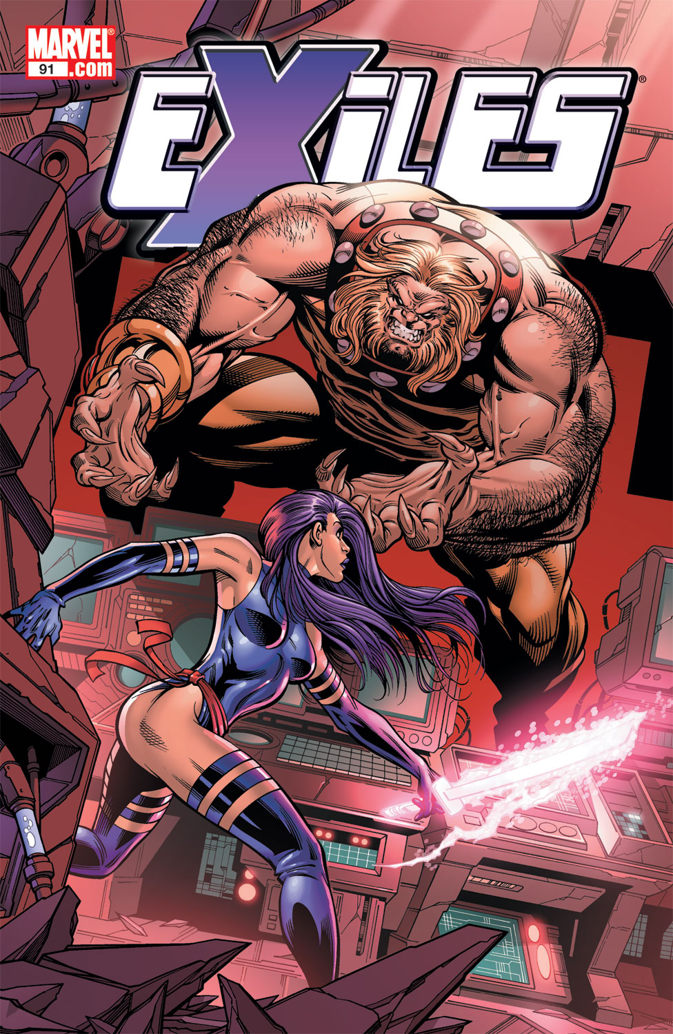 Exiles (2001) issue 91 - Page 1