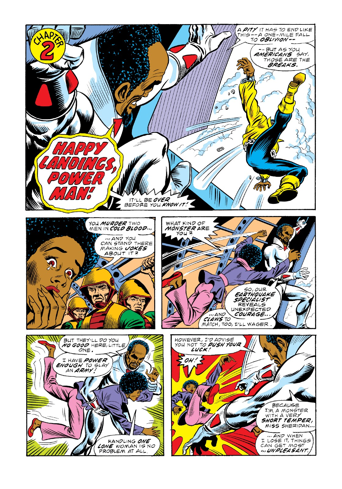 Read online Marvel Masterworks: Luke Cage, Power Man comic -  Issue # TPB 3 (Part 1) - 99