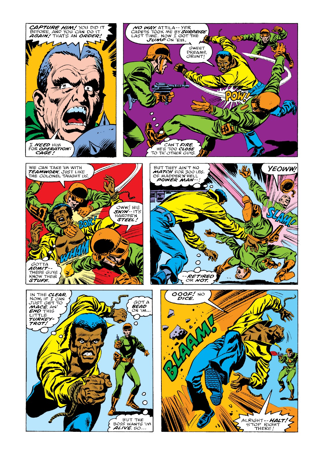 Read online Marvel Masterworks: Luke Cage, Power Man comic -  Issue # TPB 3 (Part 3) - 50
