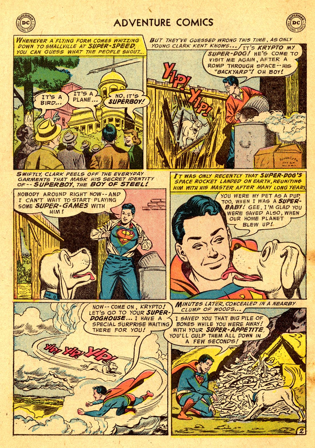 Read online Adventure Comics (1938) comic -  Issue #220 - 4