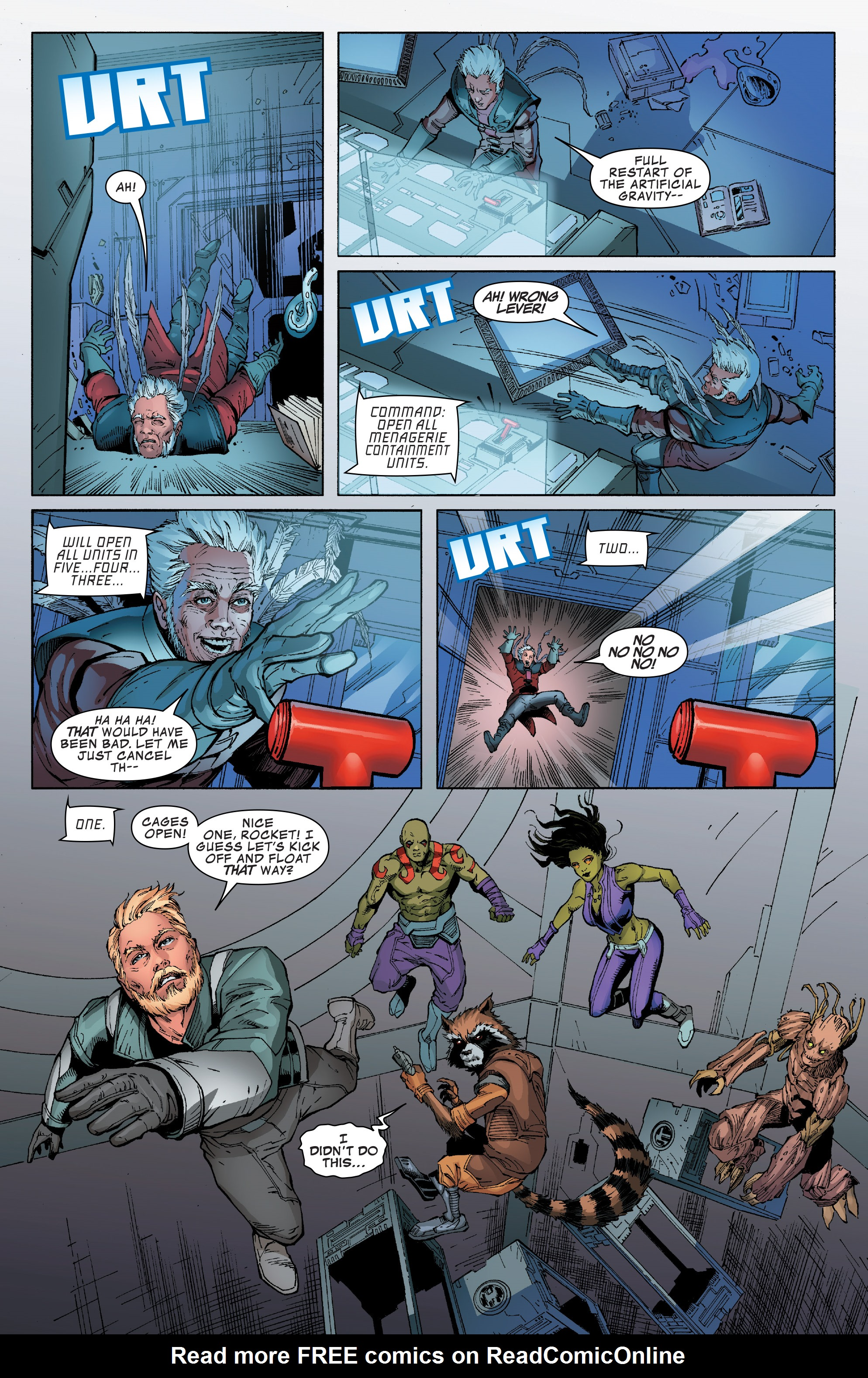 Read online Guardians of the Galaxy: Mission Breakout comic -  Issue # Full - 20