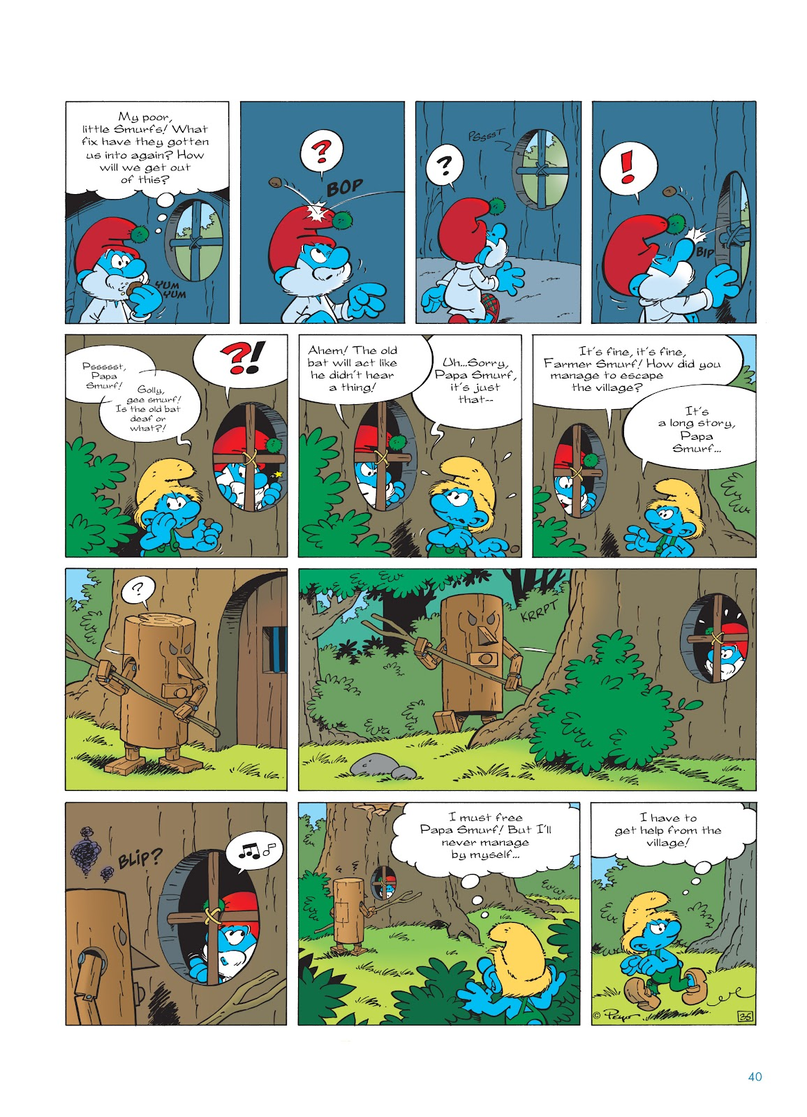 Read online The Smurfs comic -  Issue #23 - 40