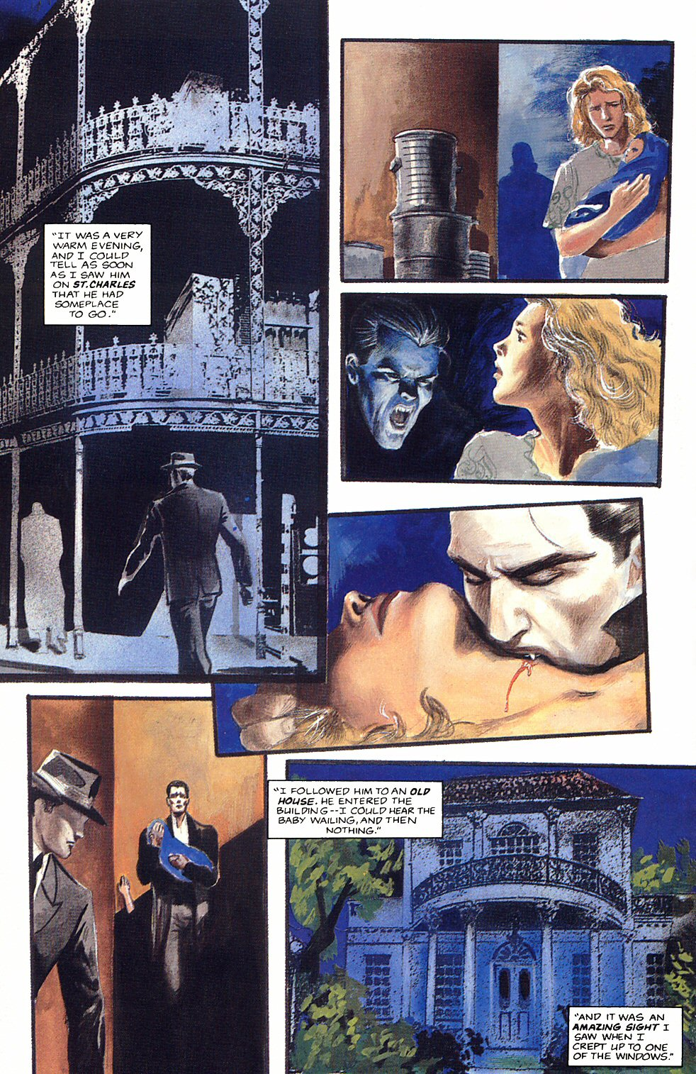 Read online Anne Rice's Interview with the Vampire comic -  Issue #12 - 12