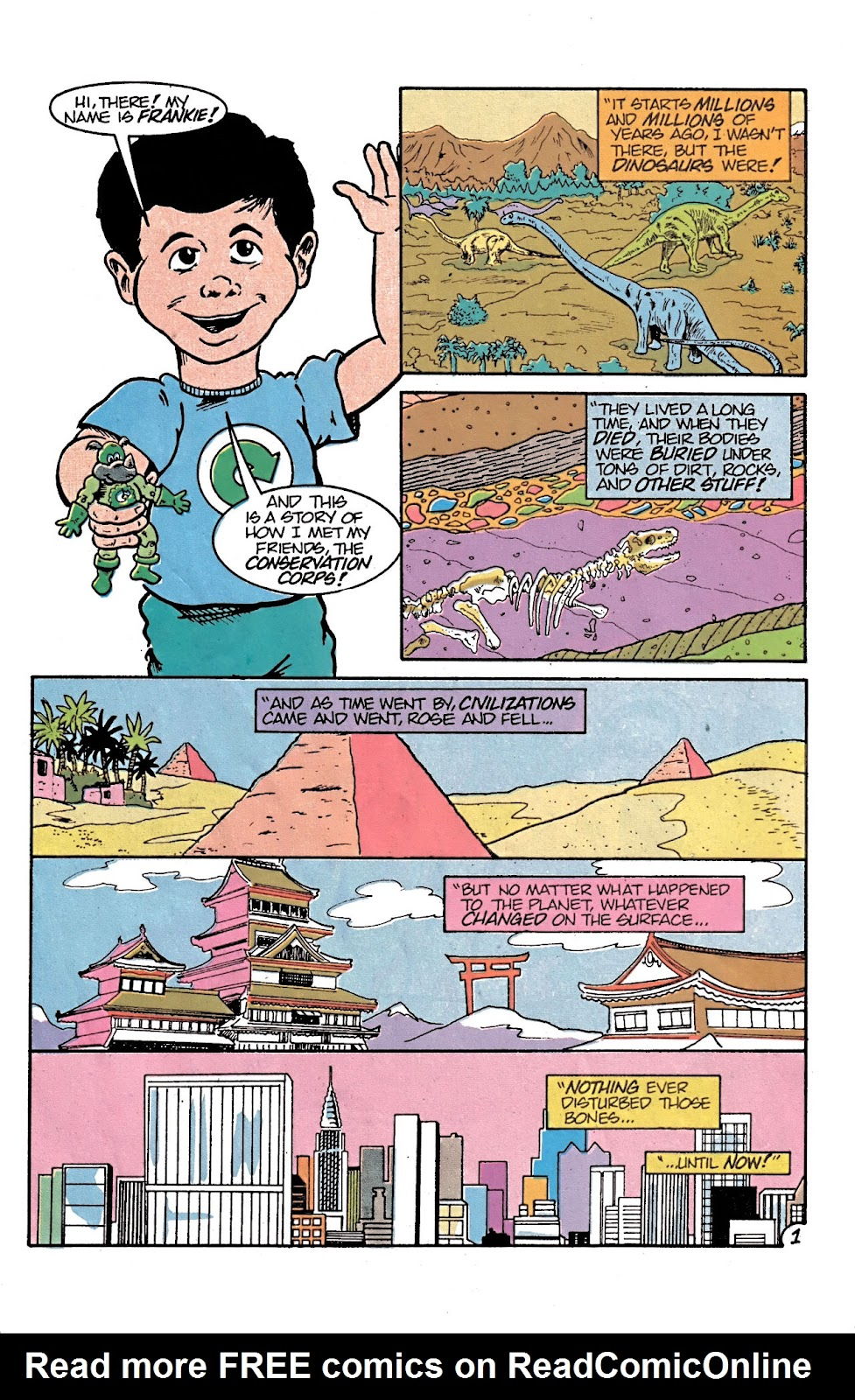 Read online Conservation Corps comic -  Issue #3 - 14