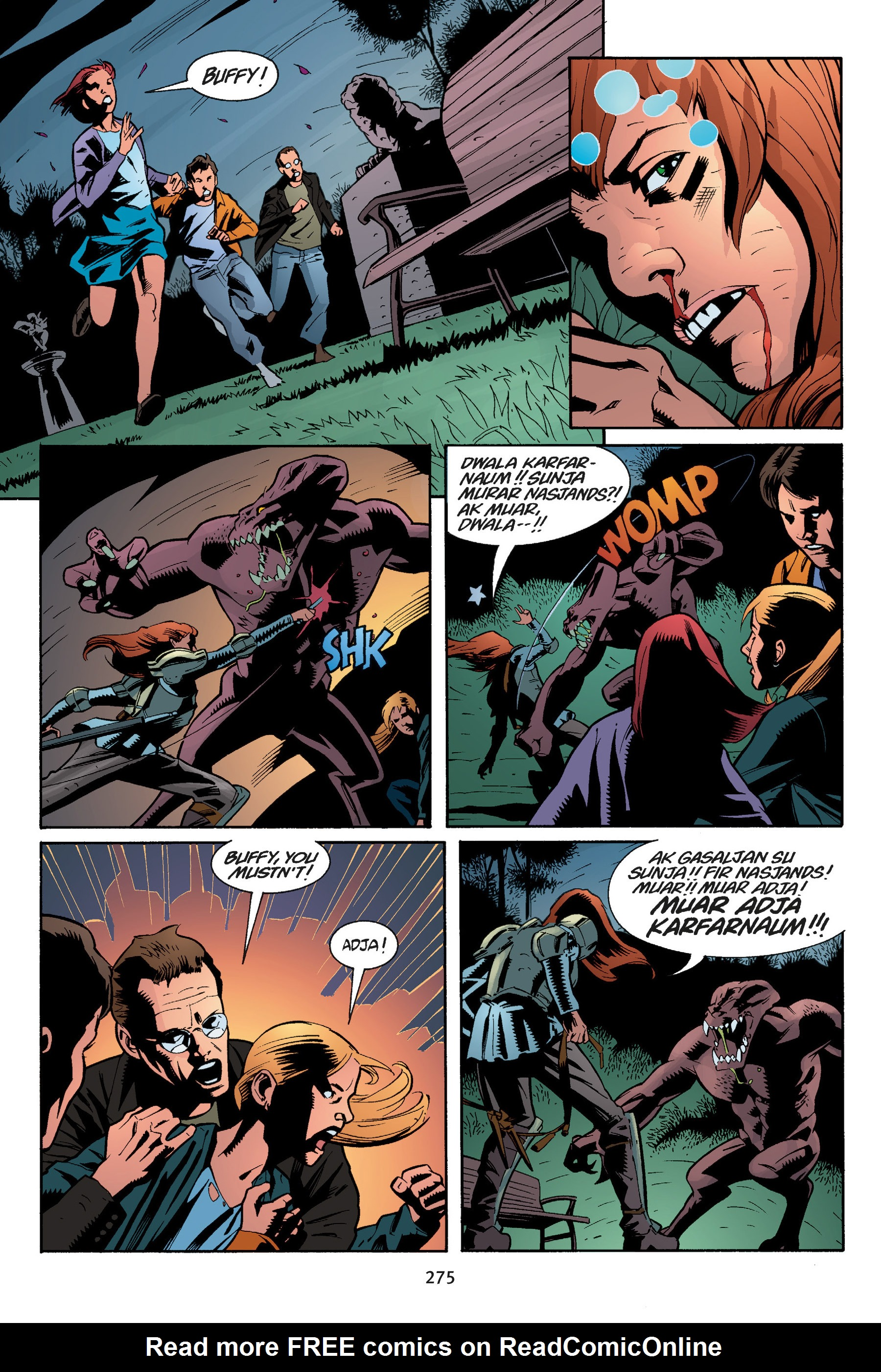 Read online Buffy the Vampire Slayer: Omnibus comic -  Issue # TPB 5 - 274