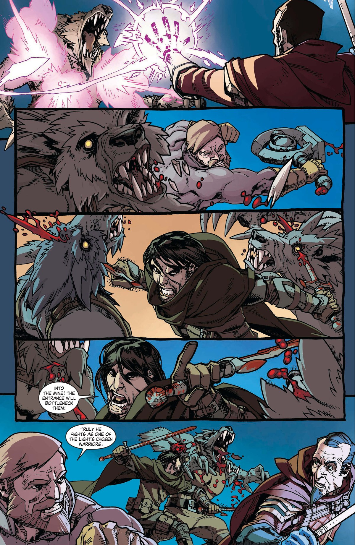 Read online World of Warcraft: Dark Riders comic -  Issue # Full - 65