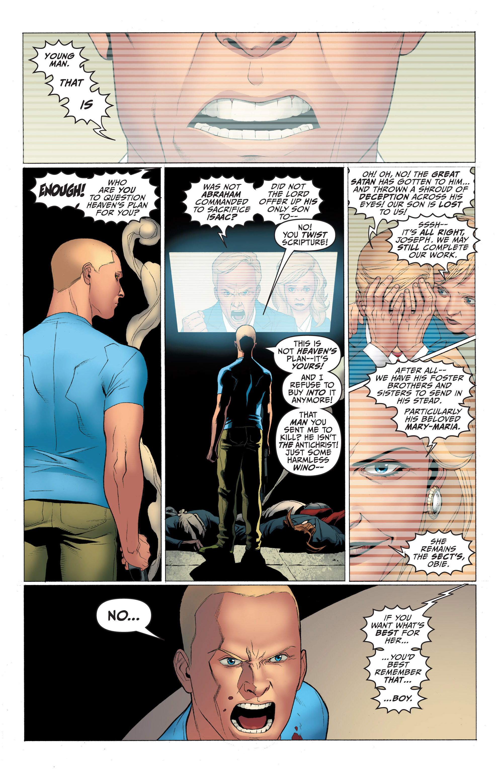 Read online Archer and Armstrong comic -  Issue #Archer and Armstrong _TPB 1 - 33