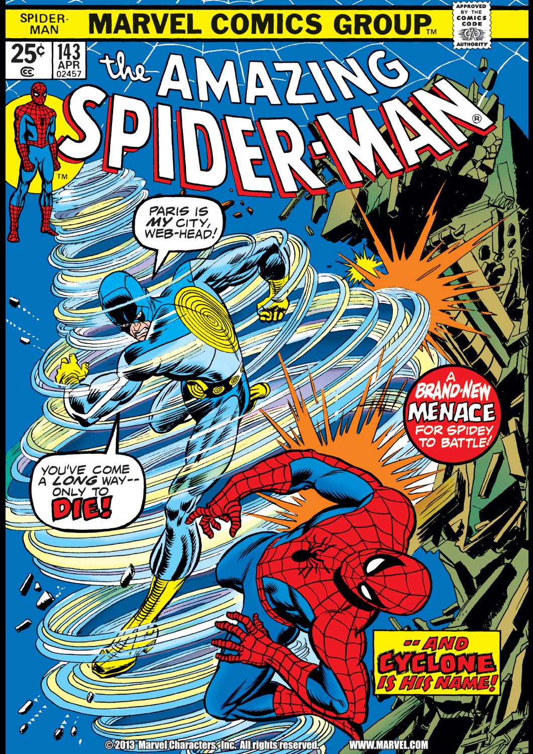The Amazing Spider-Man (1963) 143 Page 1