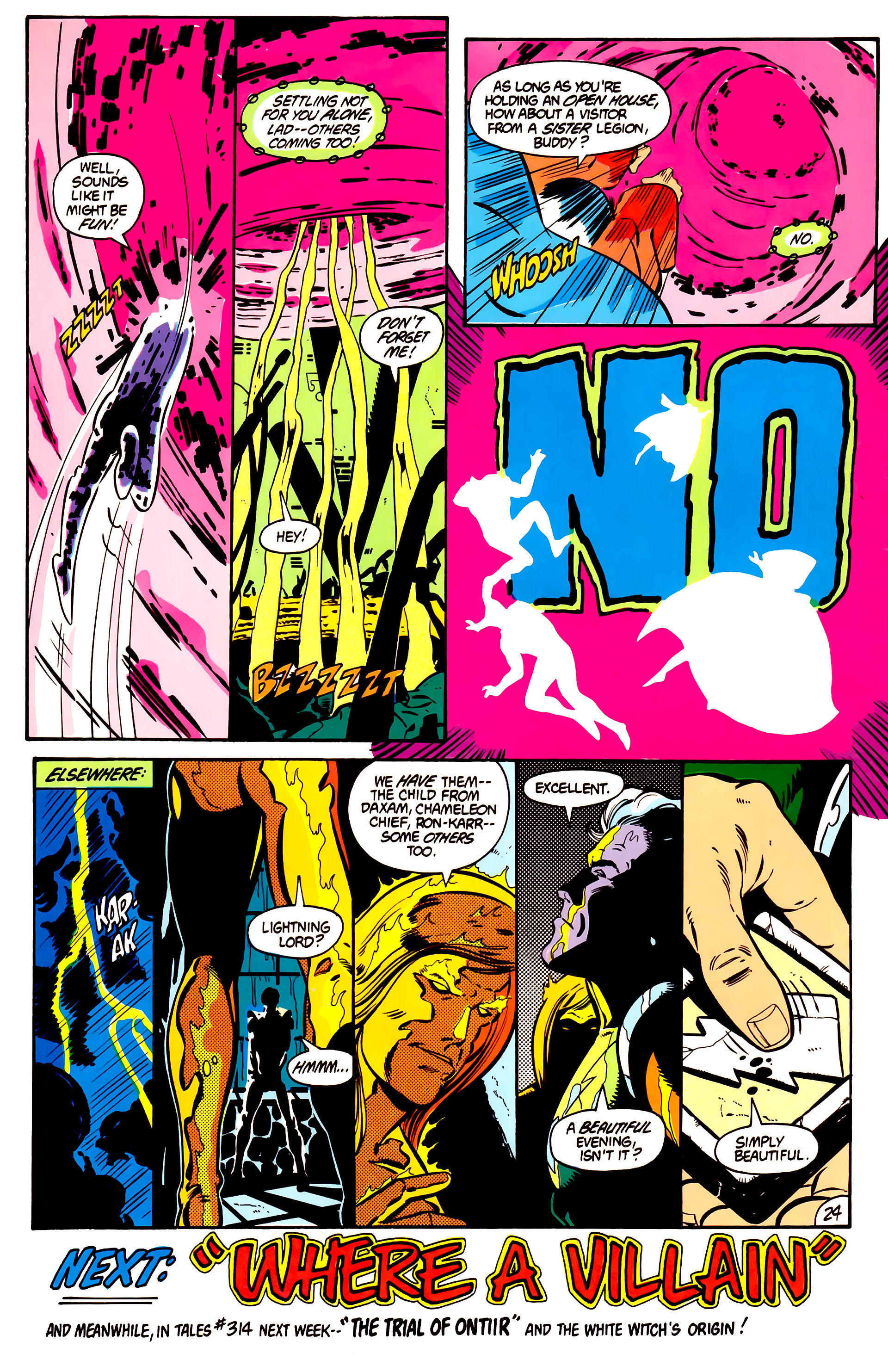 Legion of Super-Heroes (1984) 1 Page 25