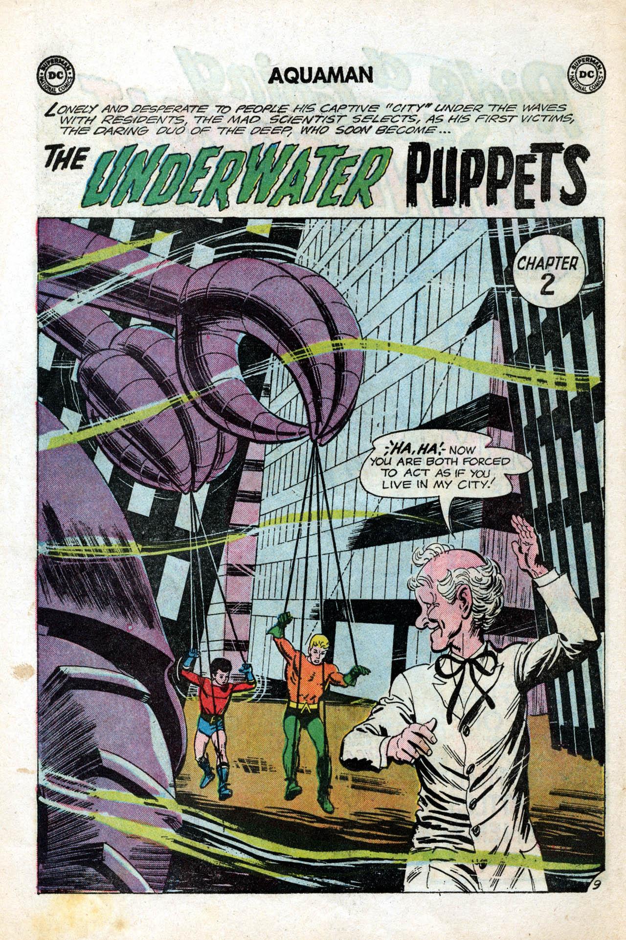 Read online Aquaman (1962) comic -  Issue #15 - 14