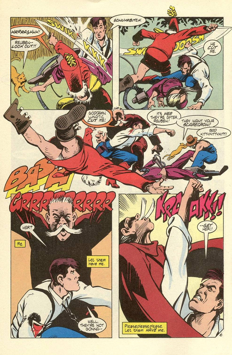Read online American Flagg! comic -  Issue #40 - 8