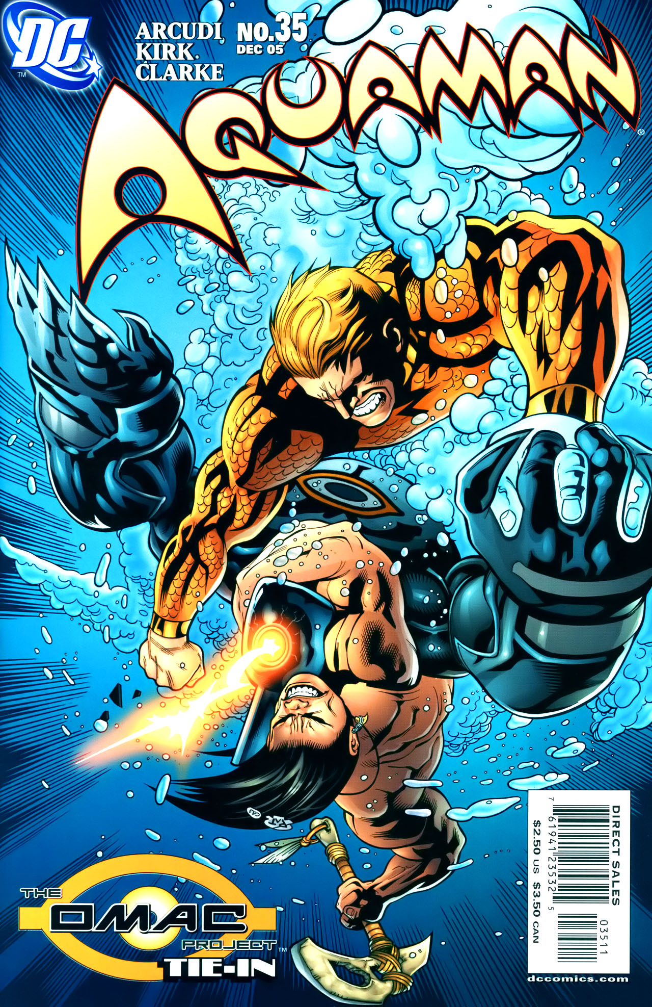 Read online Aquaman (2003) comic -  Issue #35 - 1