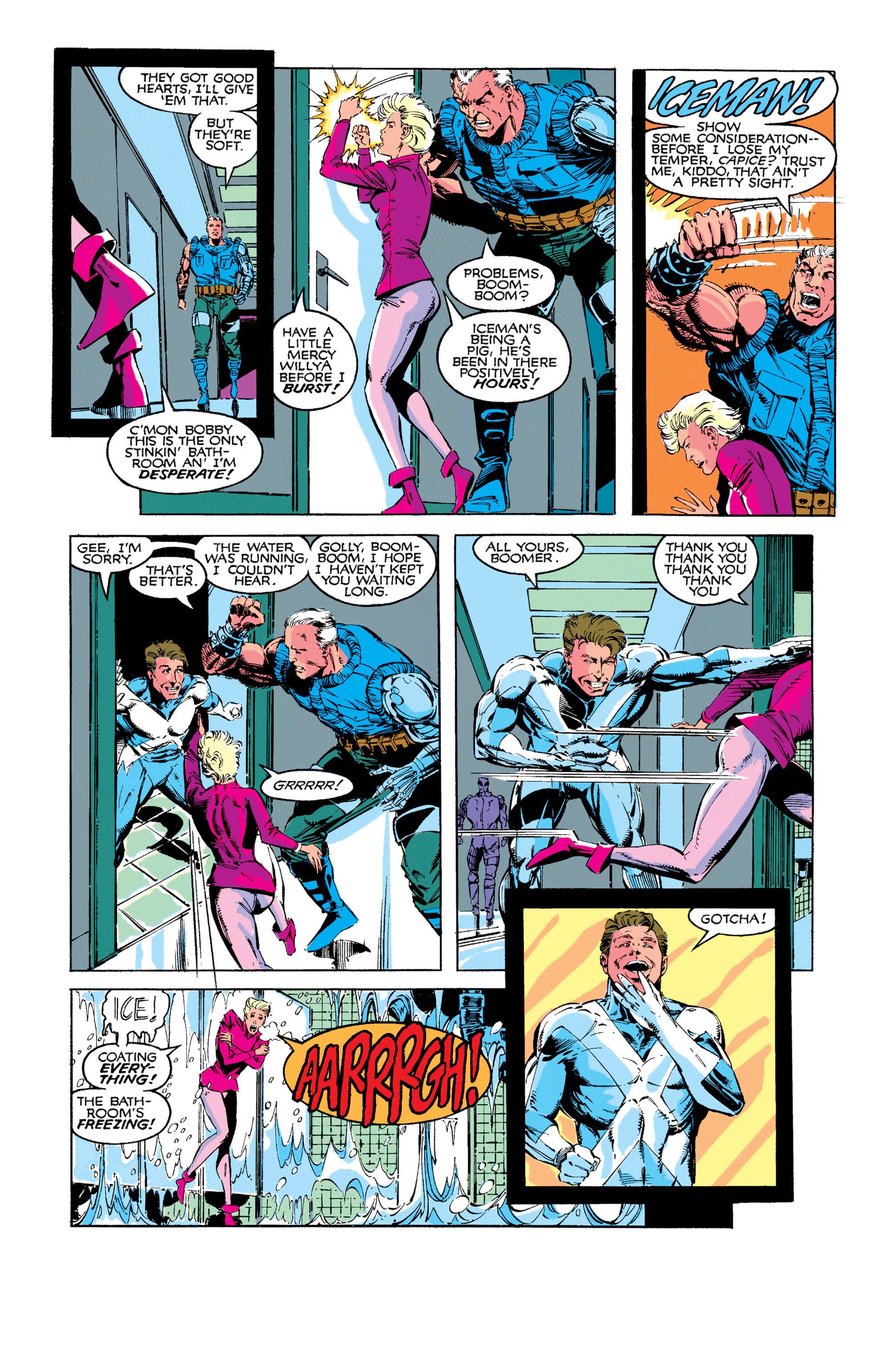Read online Uncanny X-Men (1963) comic -  Issue #273 - 6