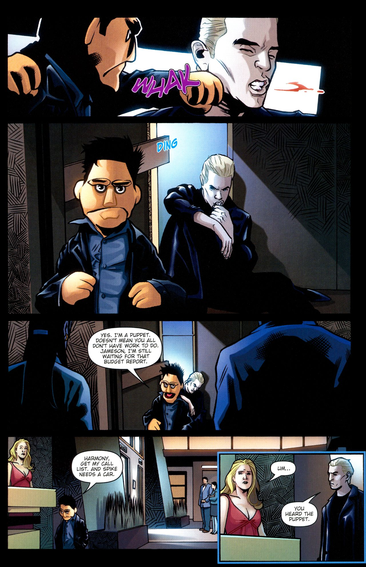 Read online Angel: Smile Time comic -  Issue #2 - 15