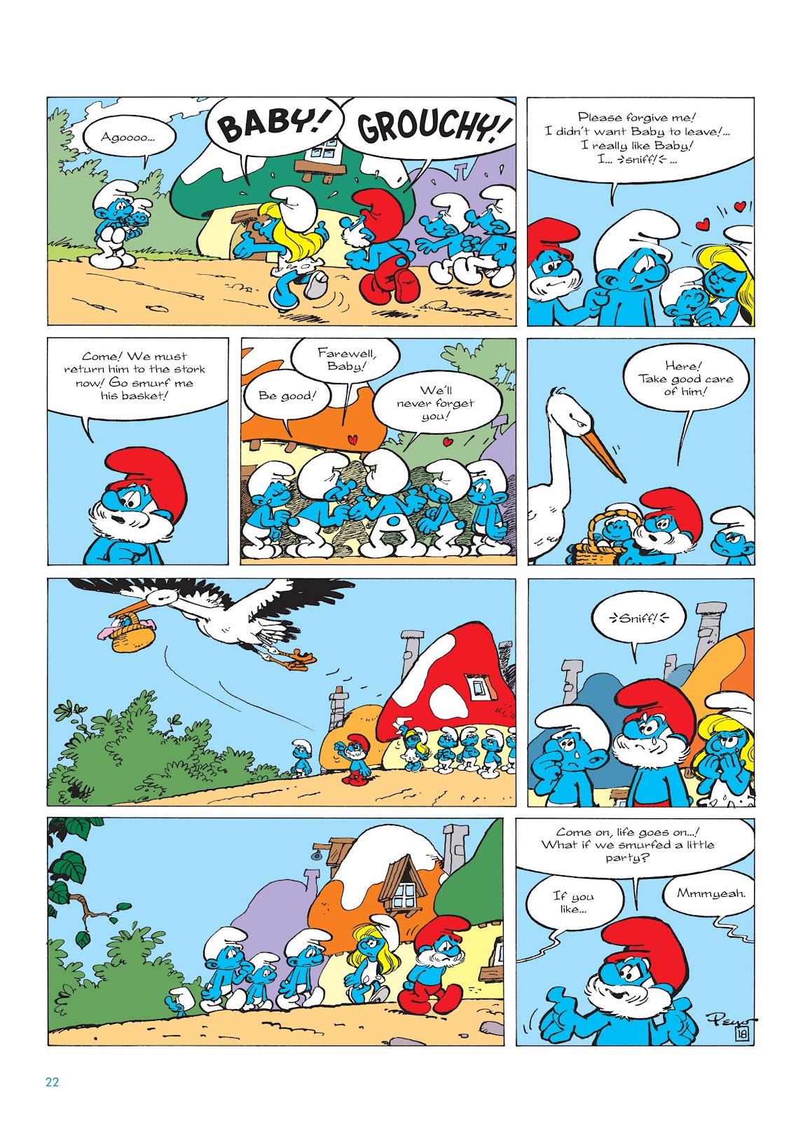Read online The Smurfs comic -  Issue #14 - 23