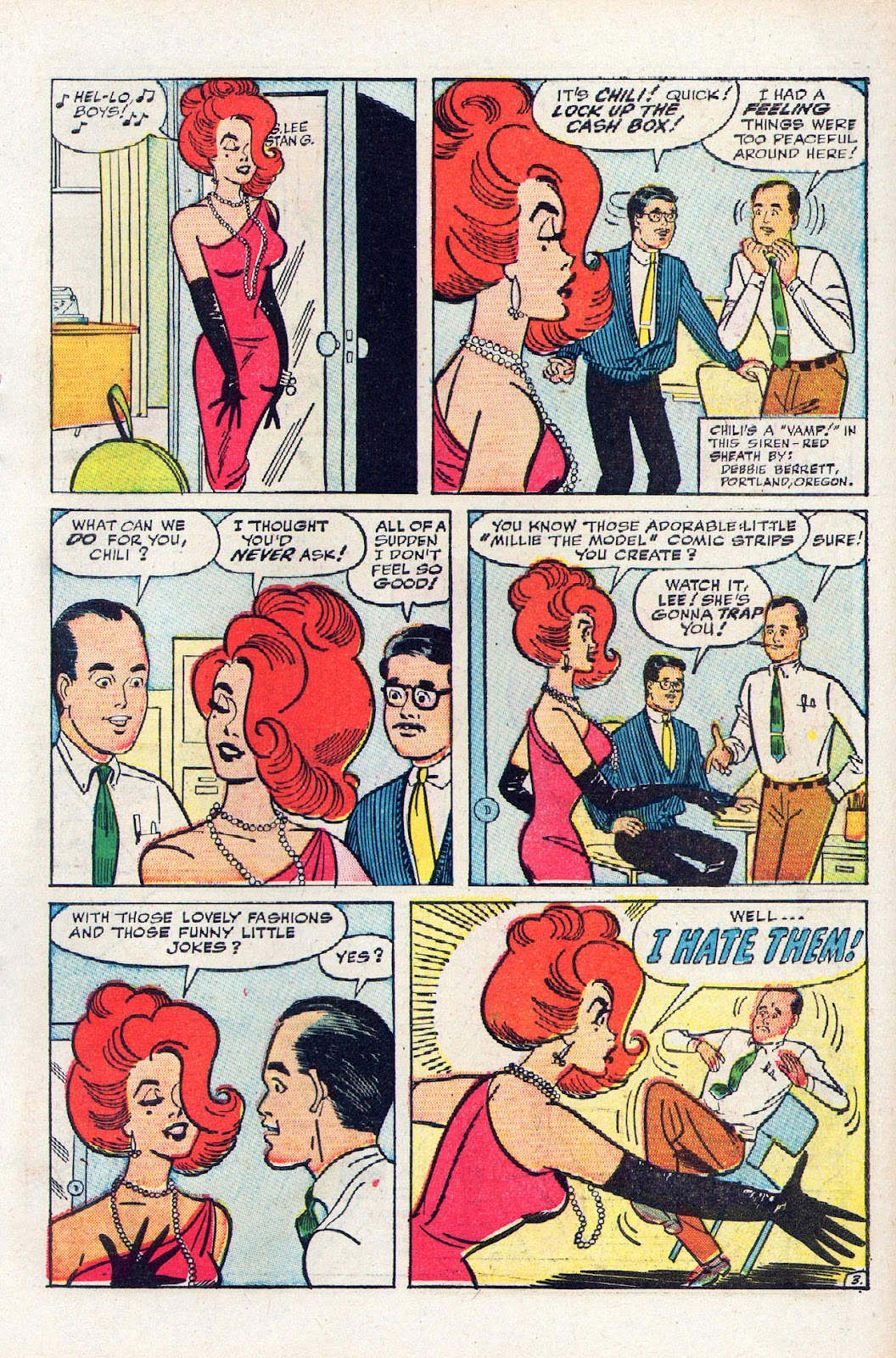 Read online Millie the Model comic -  Issue # Annual 2 - 63