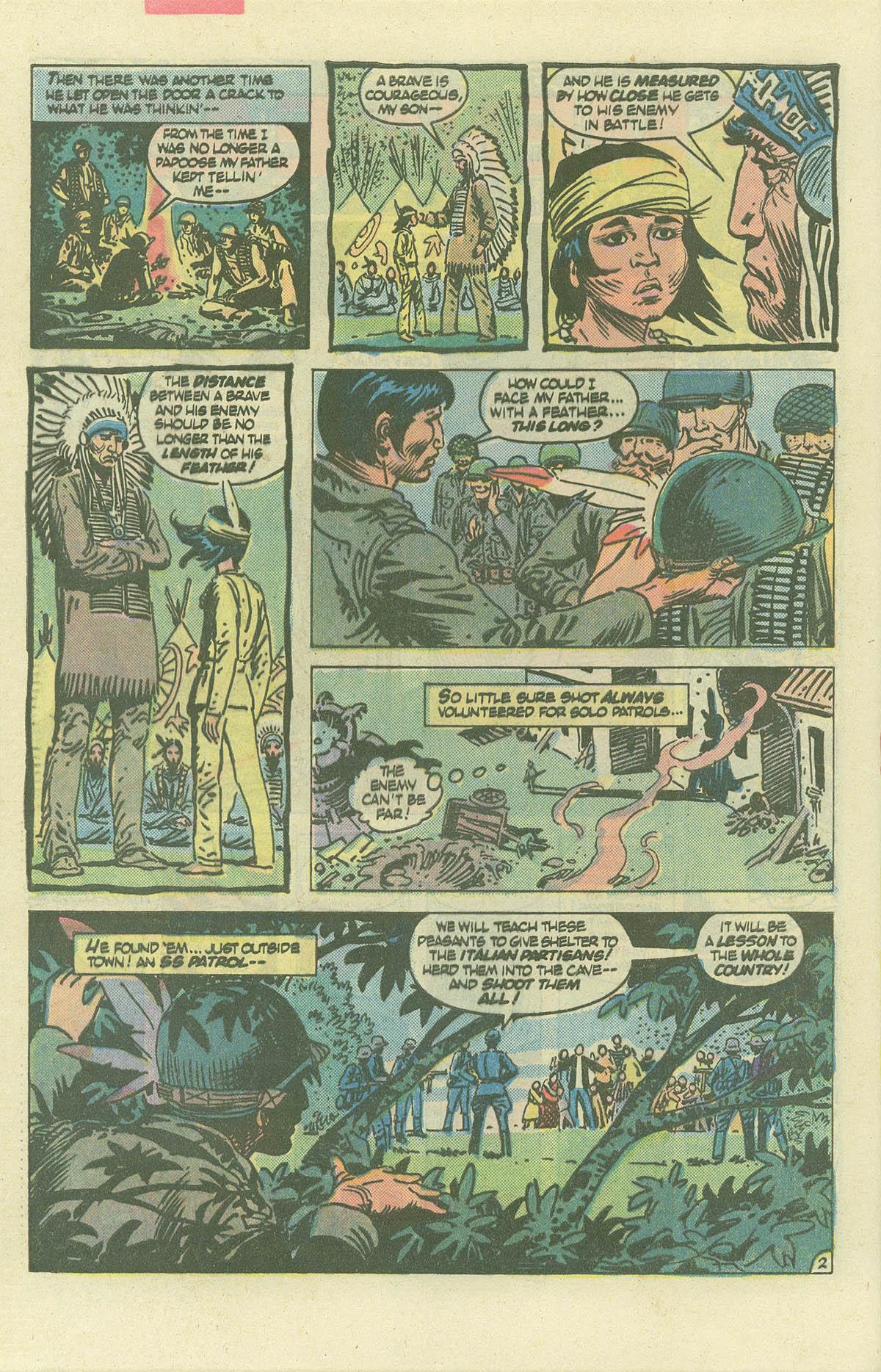 Read online Sgt. Rock comic -  Issue #382 - 29