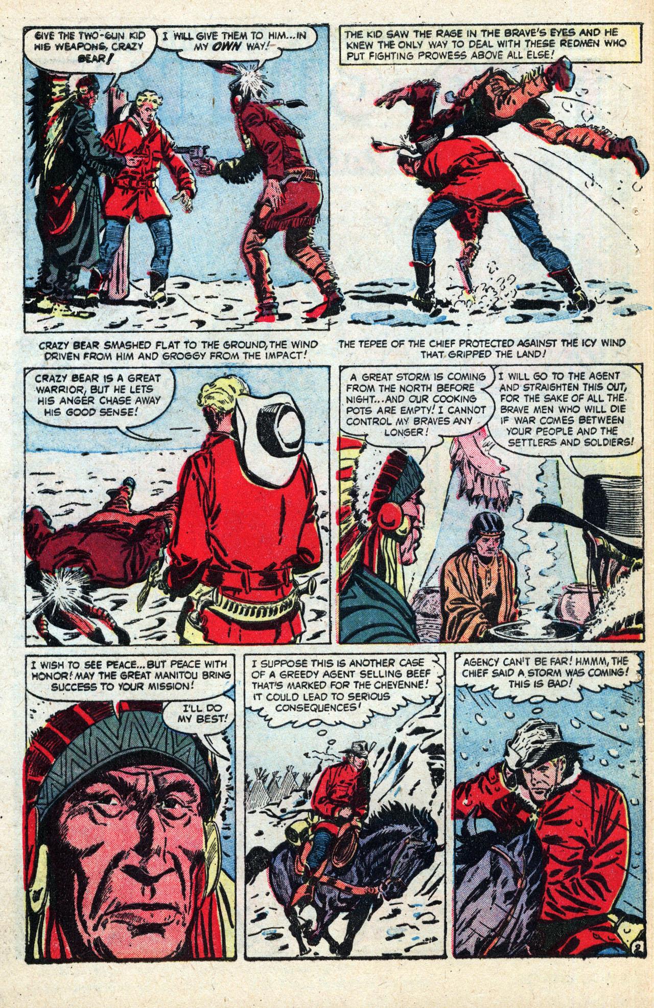 Read online Two-Gun Kid comic -  Issue #27 - 28
