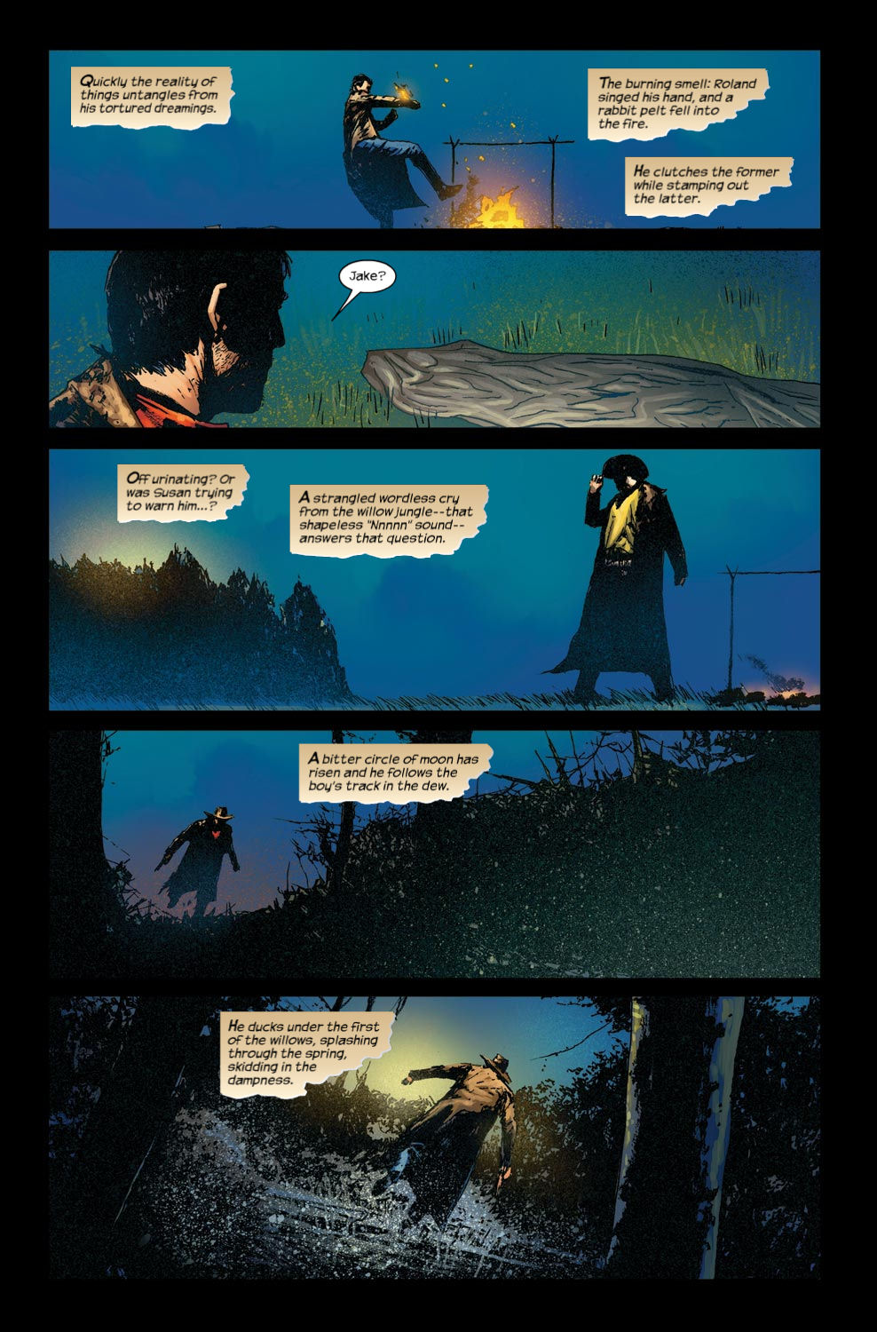 Read online Dark Tower: The Gunslinger - The Way Station comic -  Issue #4 - 19