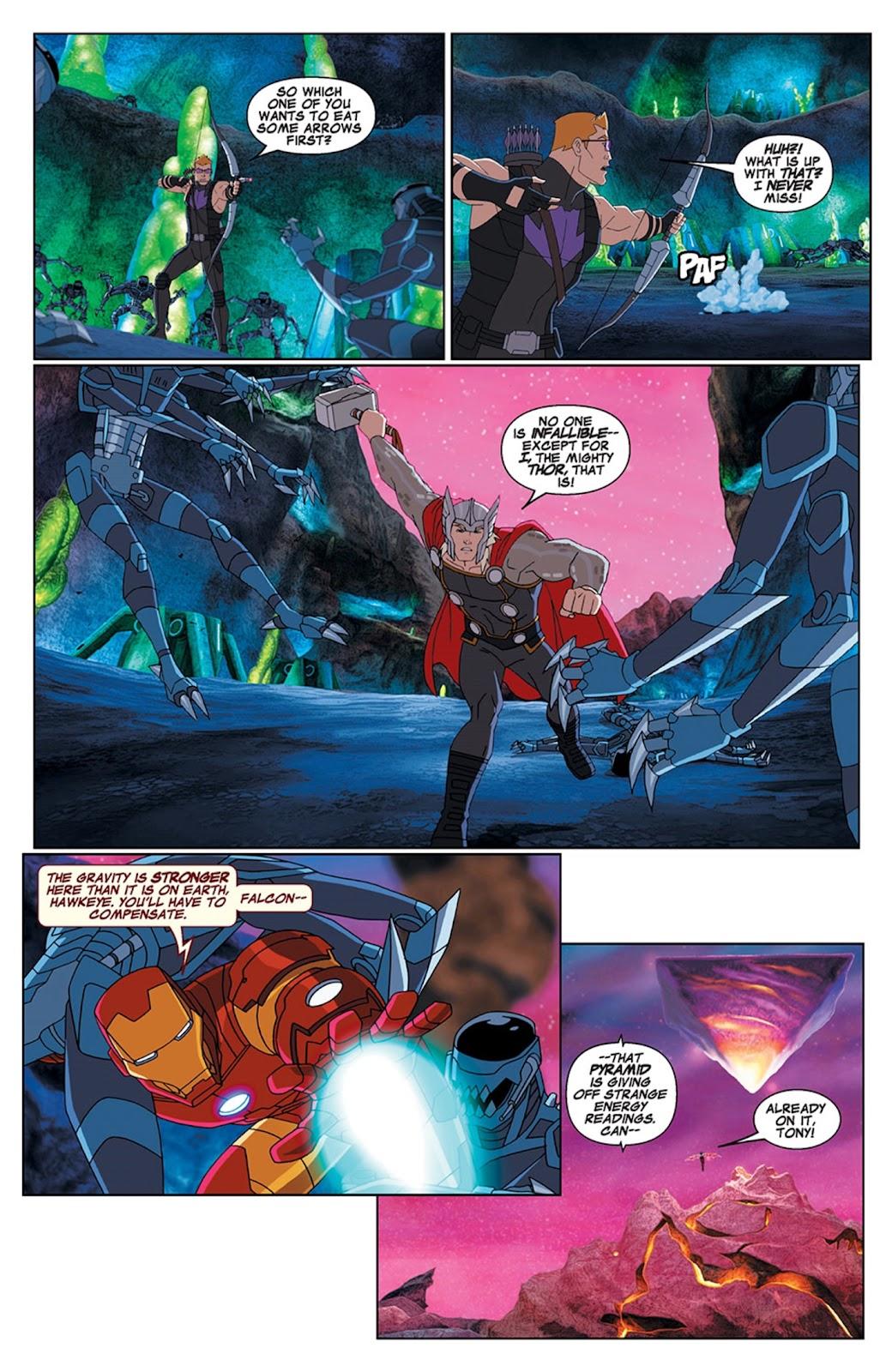 Read online Marvel Universe Avengers Assemble Season 2 comic -  Issue #15 - 10