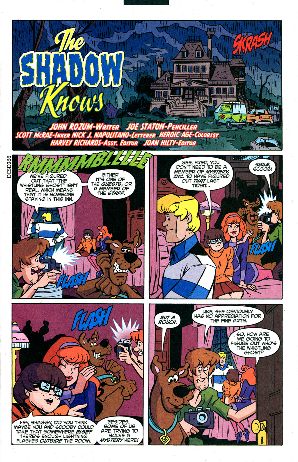 Read online Scooby-Doo (1997) comic -  Issue #88 - 12