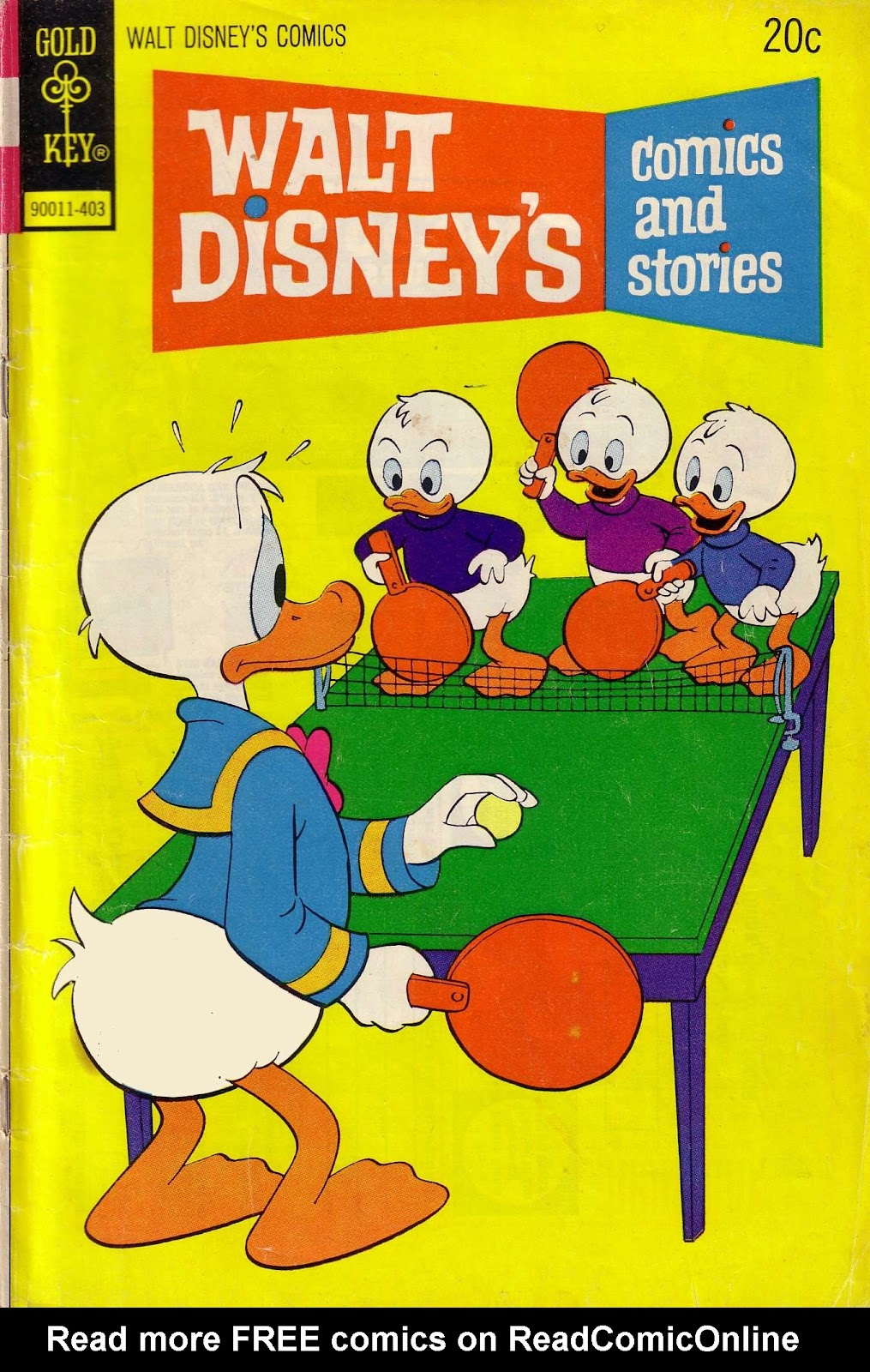 Walt Disney's Comics and Stories issue 402 - Page 1