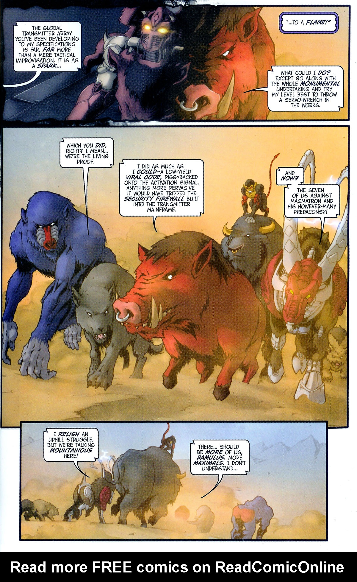 Read online Transformers, Beast Wars: The Gathering comic -  Issue #2 - 8