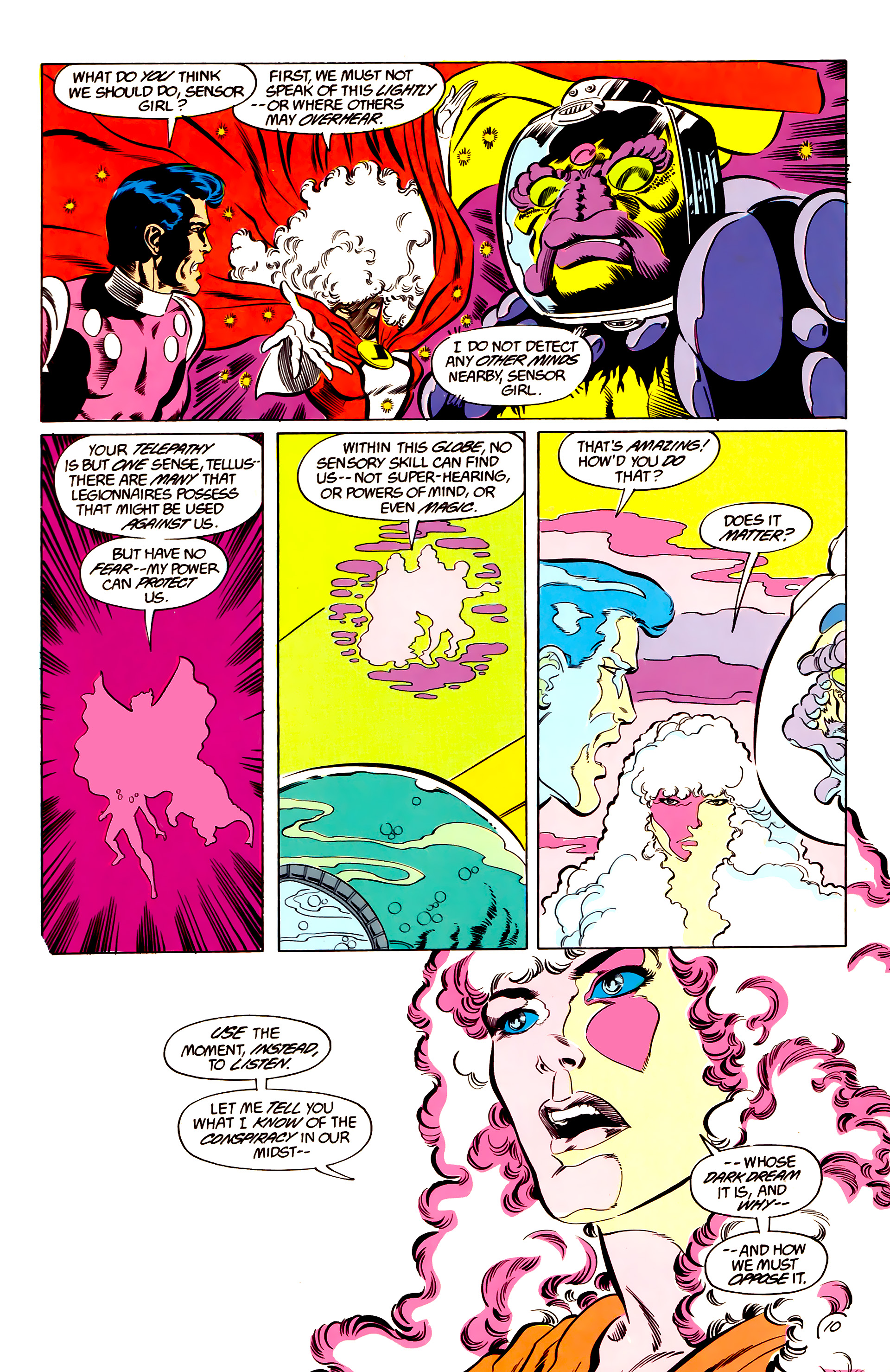 Legion of Super-Heroes (1984) 48 Page 10