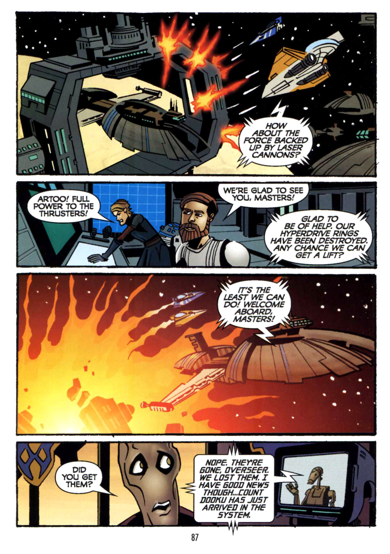 Read online Star Wars: The Clone Wars - Shipyards of Doom comic -  Issue # Full - 85